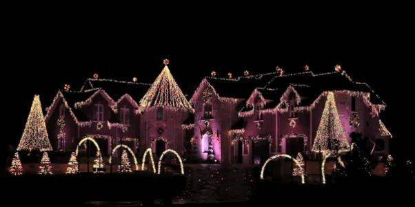 The Larsens Christmas light show at 42W891 Beith Road in Elburn takes more than 3 months of preparation and consists of over 755,000 sparkling LED lights. The entire light show lasts for over an hour and includes more than a dozen holiday tunes. The show runs through Jan. 2 from 5-10:30 p.m. Monday through Thursday and 5 p.m.-midnight on weekends. You can also view the lights at http://www.youtube.com/user/larsenlights#p/a/u/0/M-QKYO5dcrw.
