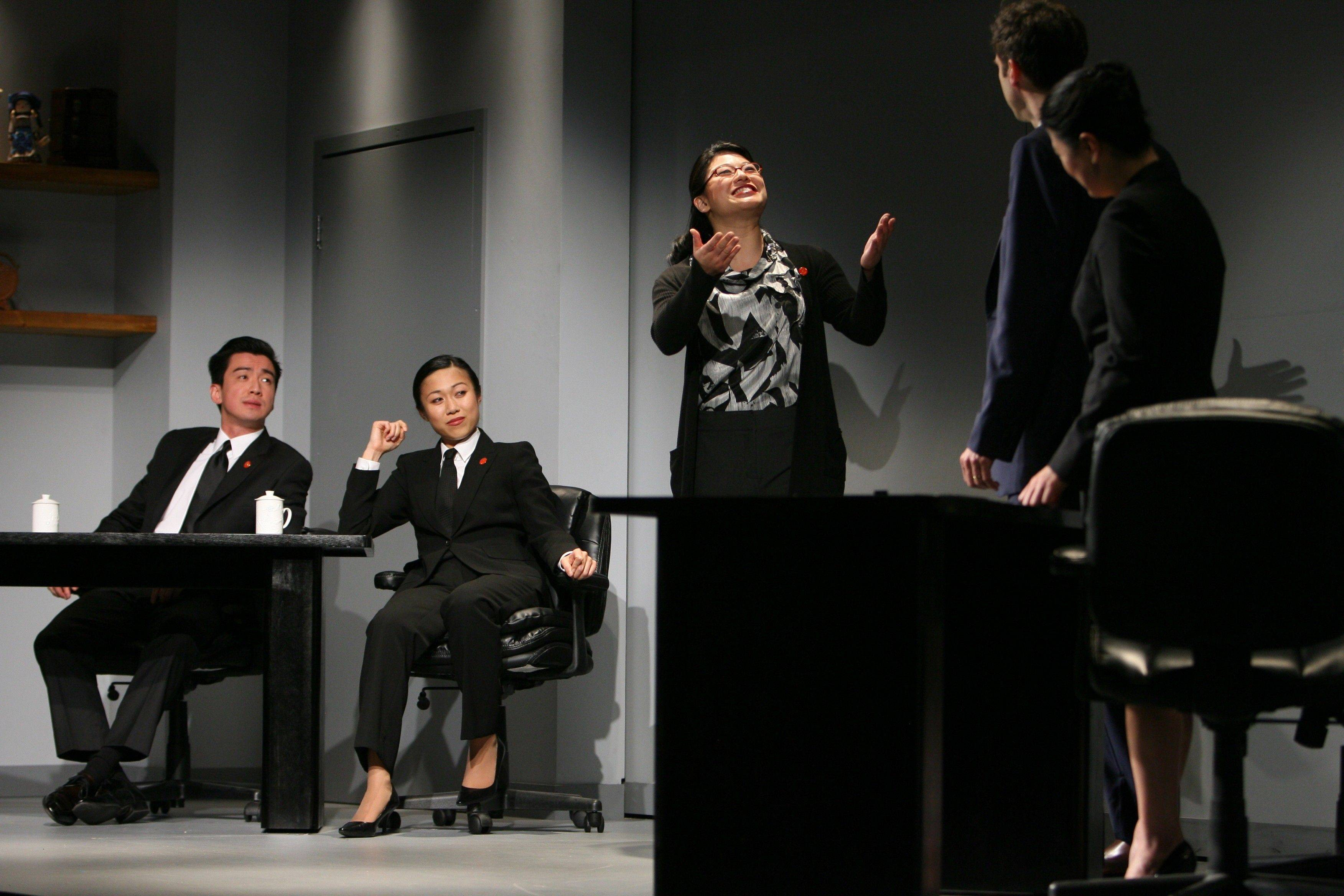 "Barrington High School alumnus Christine Lin plays Chinese translator ""Miss Zhao"" in the Broadway show ""Chinglish,"" which just finished a run at Chicago's Goodman Theatre and is now being stage on Broadway in New York."