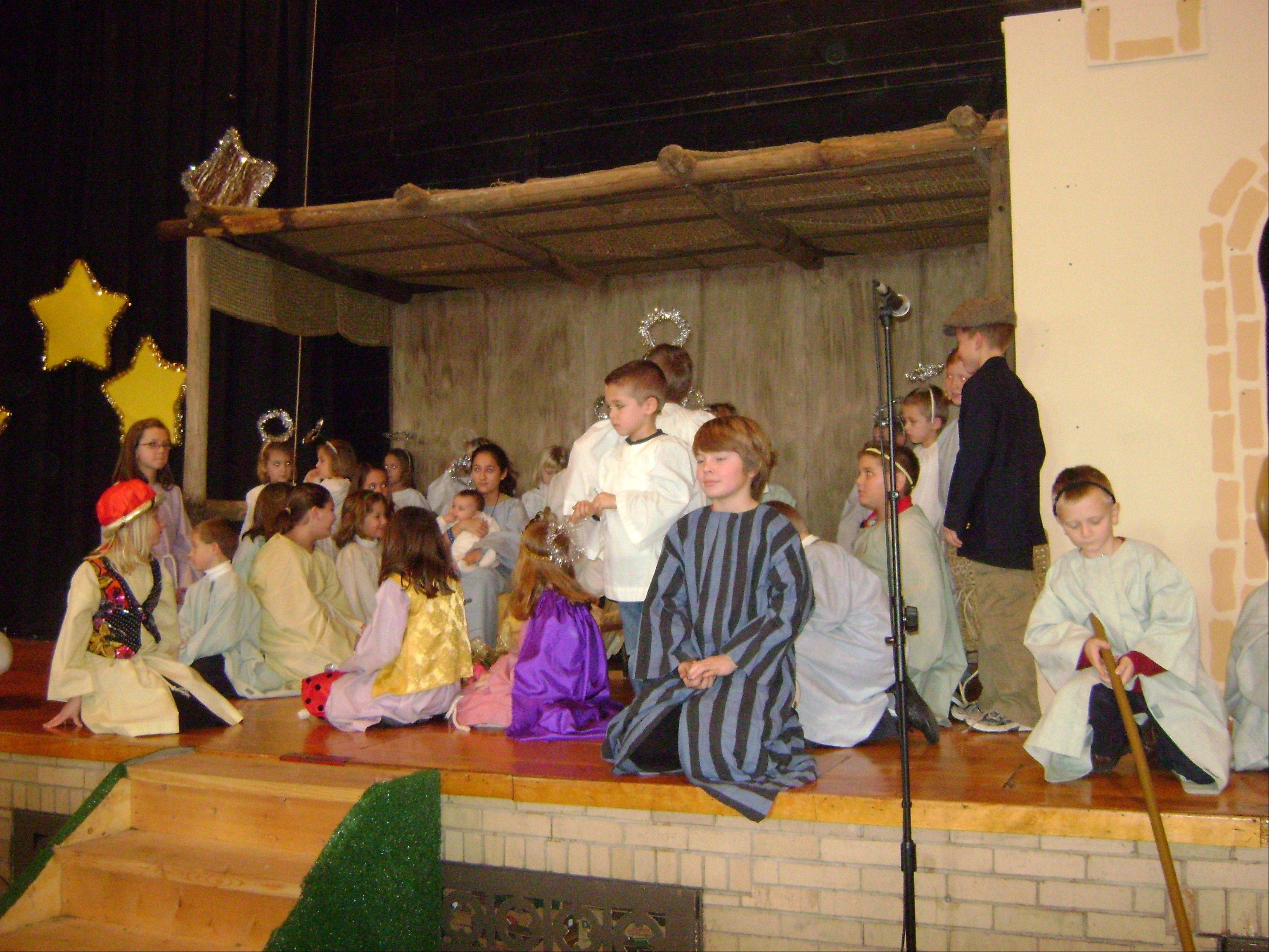 Daily Herald columnist Sammi King directed the Christmas pageant at Bethany Lutheran Church, Batavia.