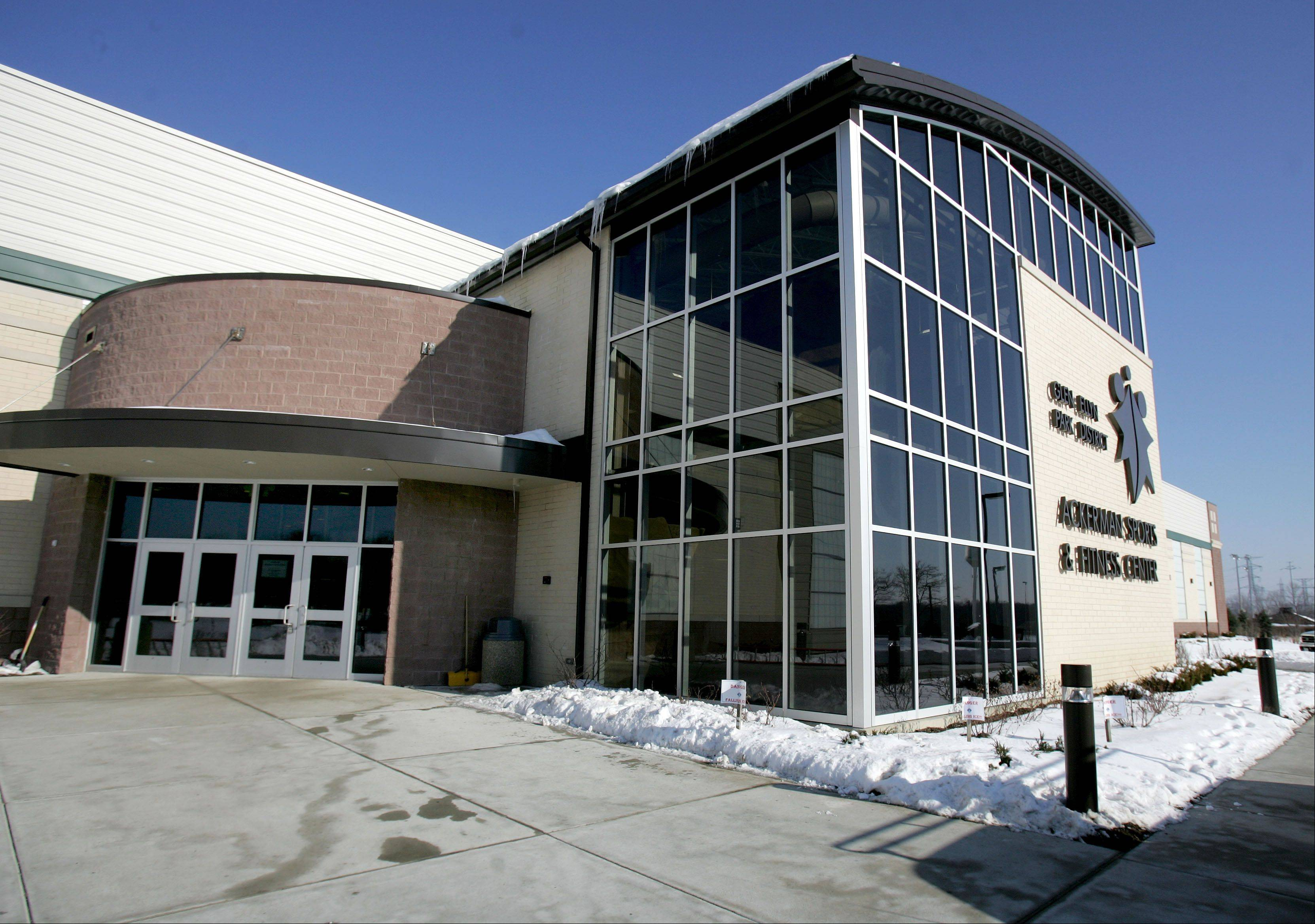 The leaky roof at Ackerman Sports & Fitness Center in Glen Ellyn is slated to be fixed this spring with a new, $1 million top layer.