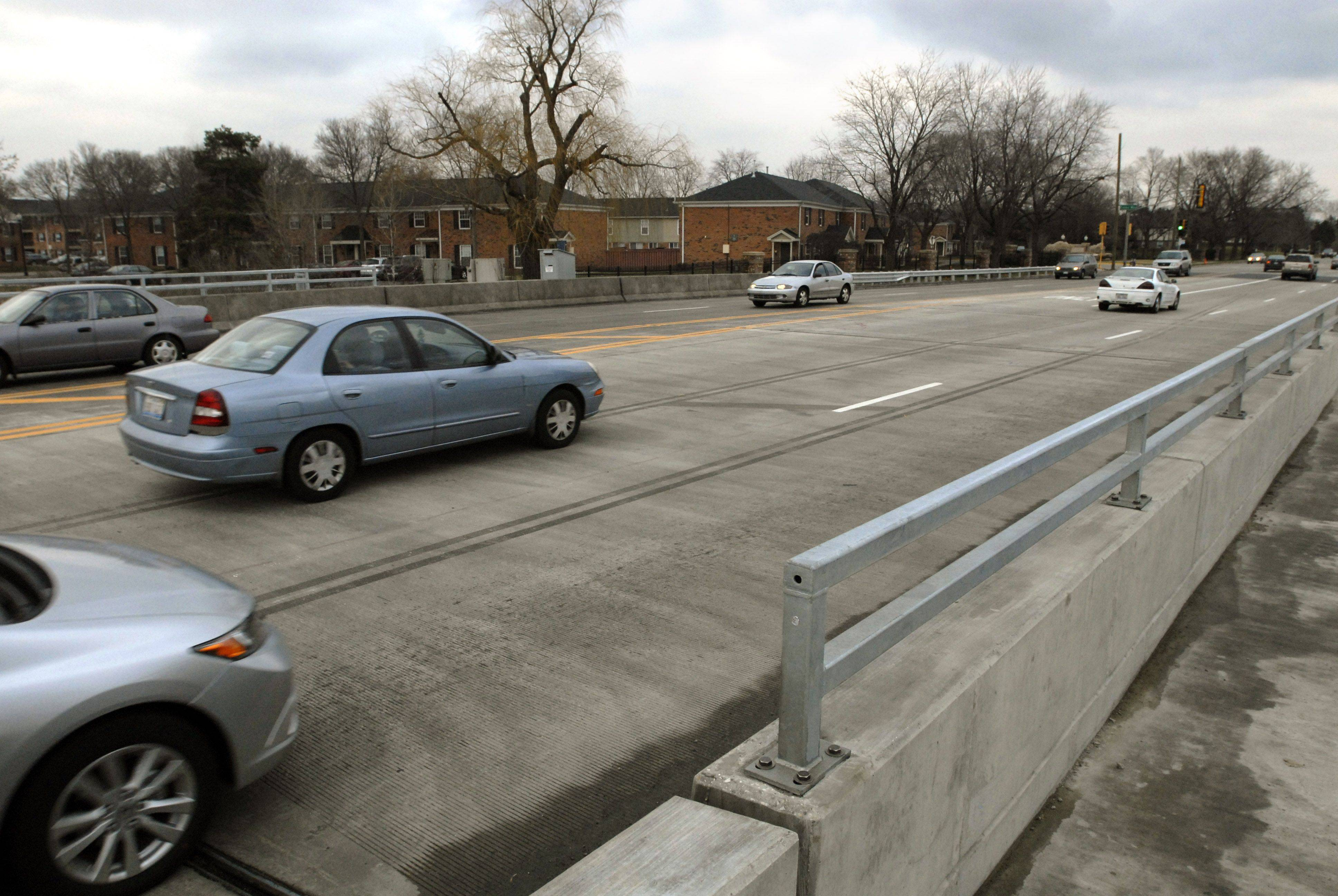 It cost taxpayers $1.6 million to fix the Algonquin Road bridge over Salt Creek in Rolling Meadows this year. It was one of 91 suburban bridges repaired in 2011.
