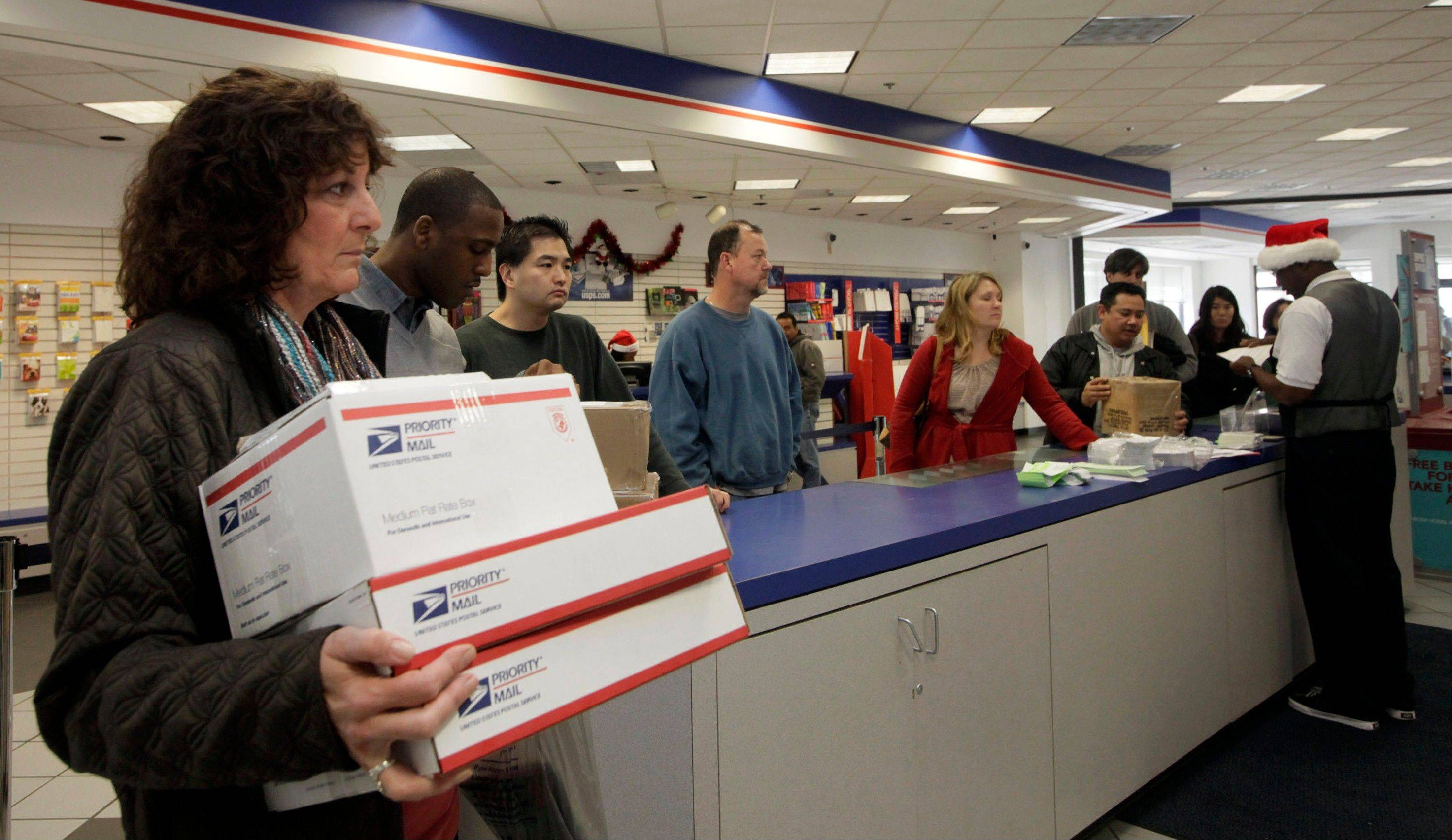 Post offices open on Christmas Eve and New Year's Eve