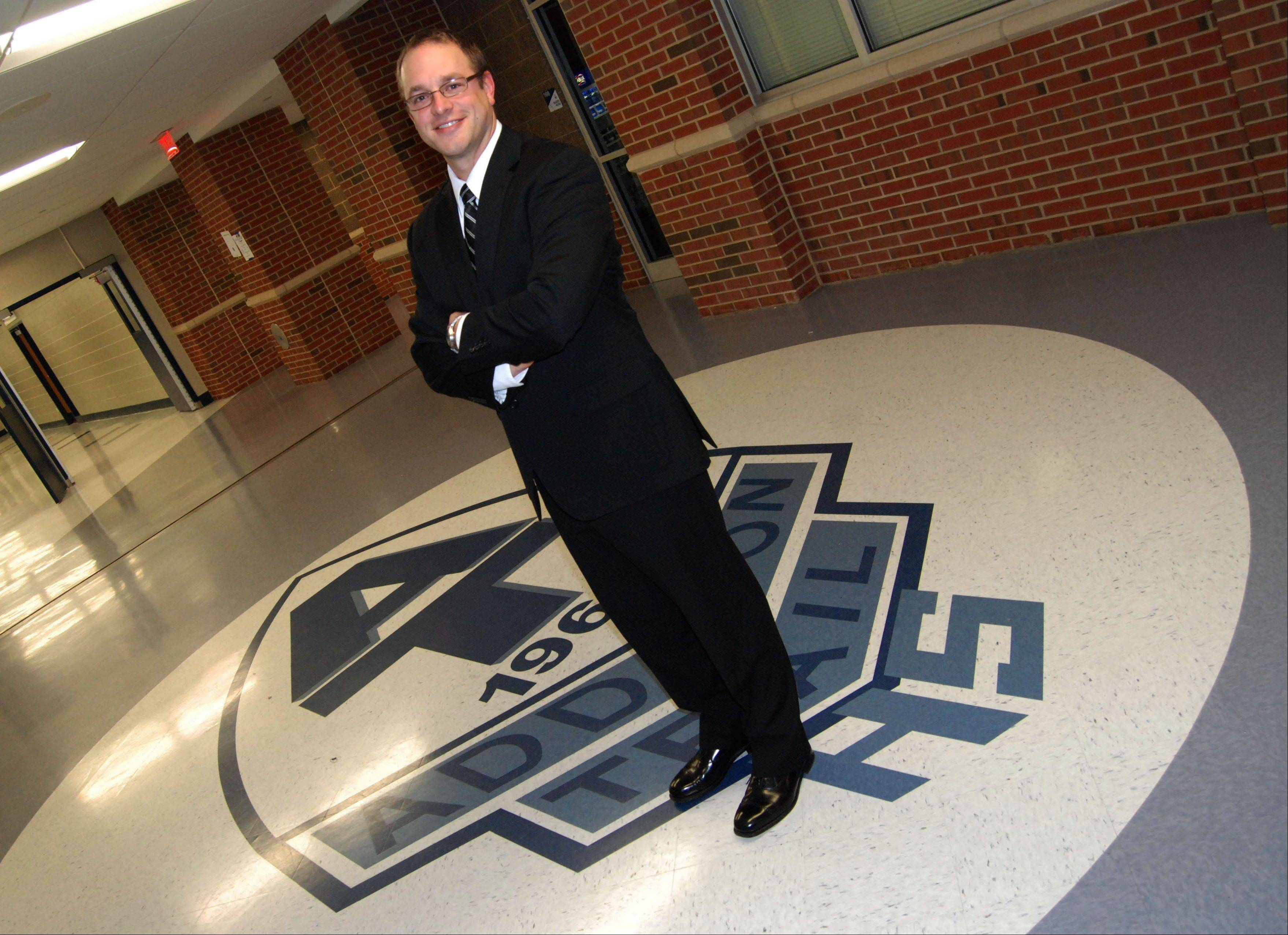 Doug Wildes has been named Addison Trail High School's new assistant principal.