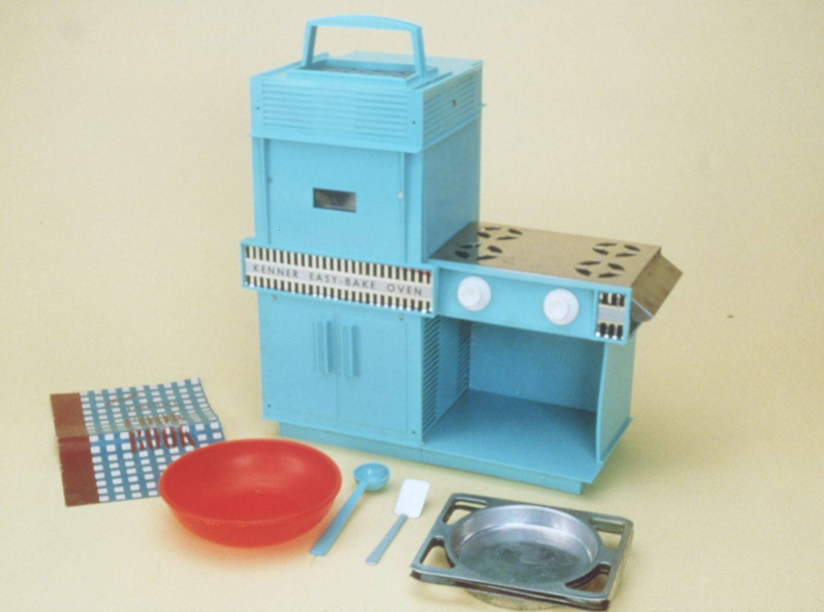 The Easy-Bake Oven was introduced by Kenner in 1963.