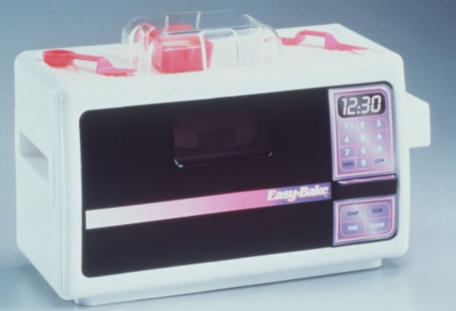 Now produced by Hasbro, the Easy-Bake Oven has been updated several times and remains a popular toy nearly 50 years later.
