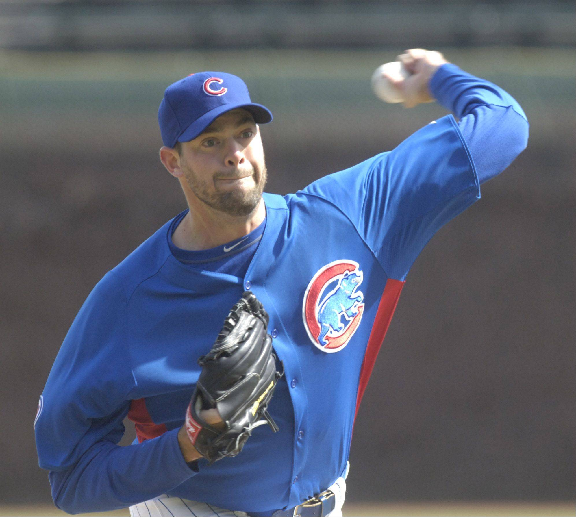 Cubs reliever Sean Marshall, who is in the last year of contract that will pay him $3.1 million this season, was traded to Cincinnati for three players. The deal was completed Friday.