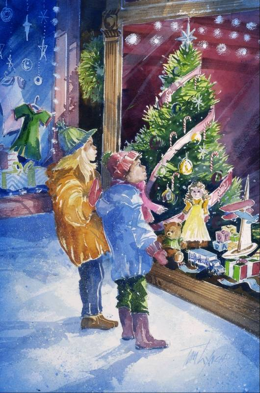 Images Tom Lynch Christmas Day Paintings