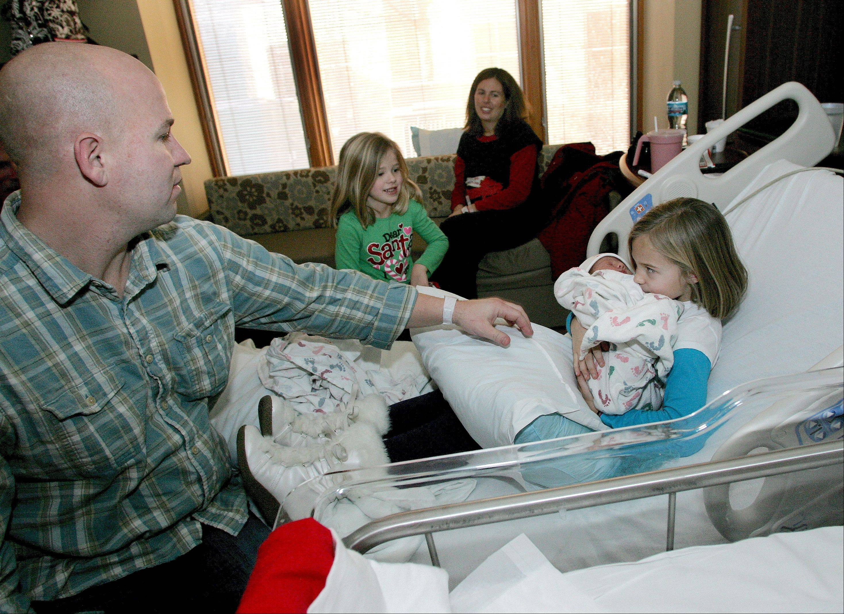Aurora mother welcomes third Christmastime baby
