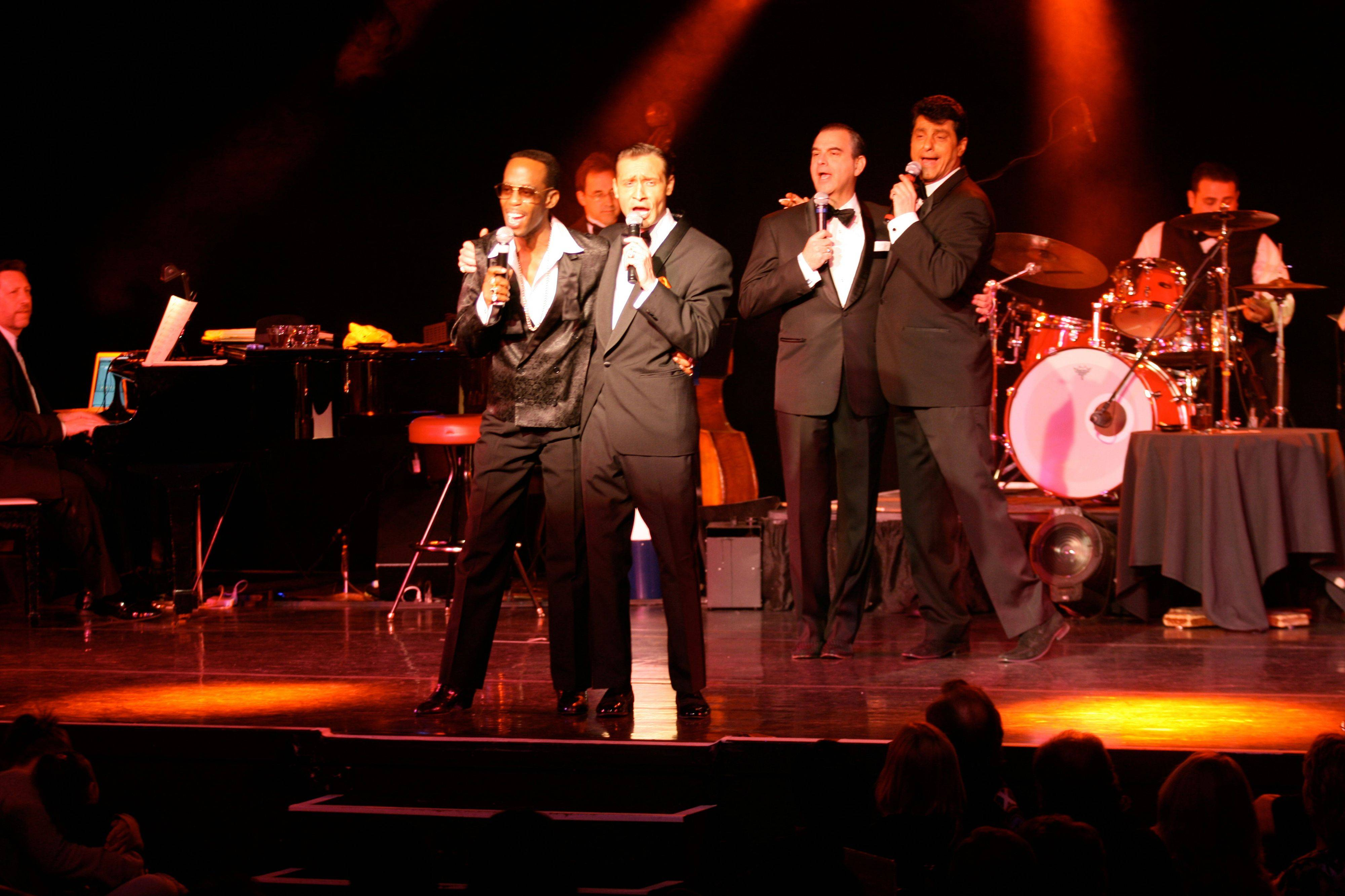 Sandy Hackett's Rat Pack Show helps usher in the New Year at the Paramount Theatre in Aurora.