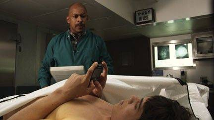 An Emmy award-winning public service announcement warning motorists about the dangers of texting while driving was filmed at the DuPage County morgue in Wheaton.