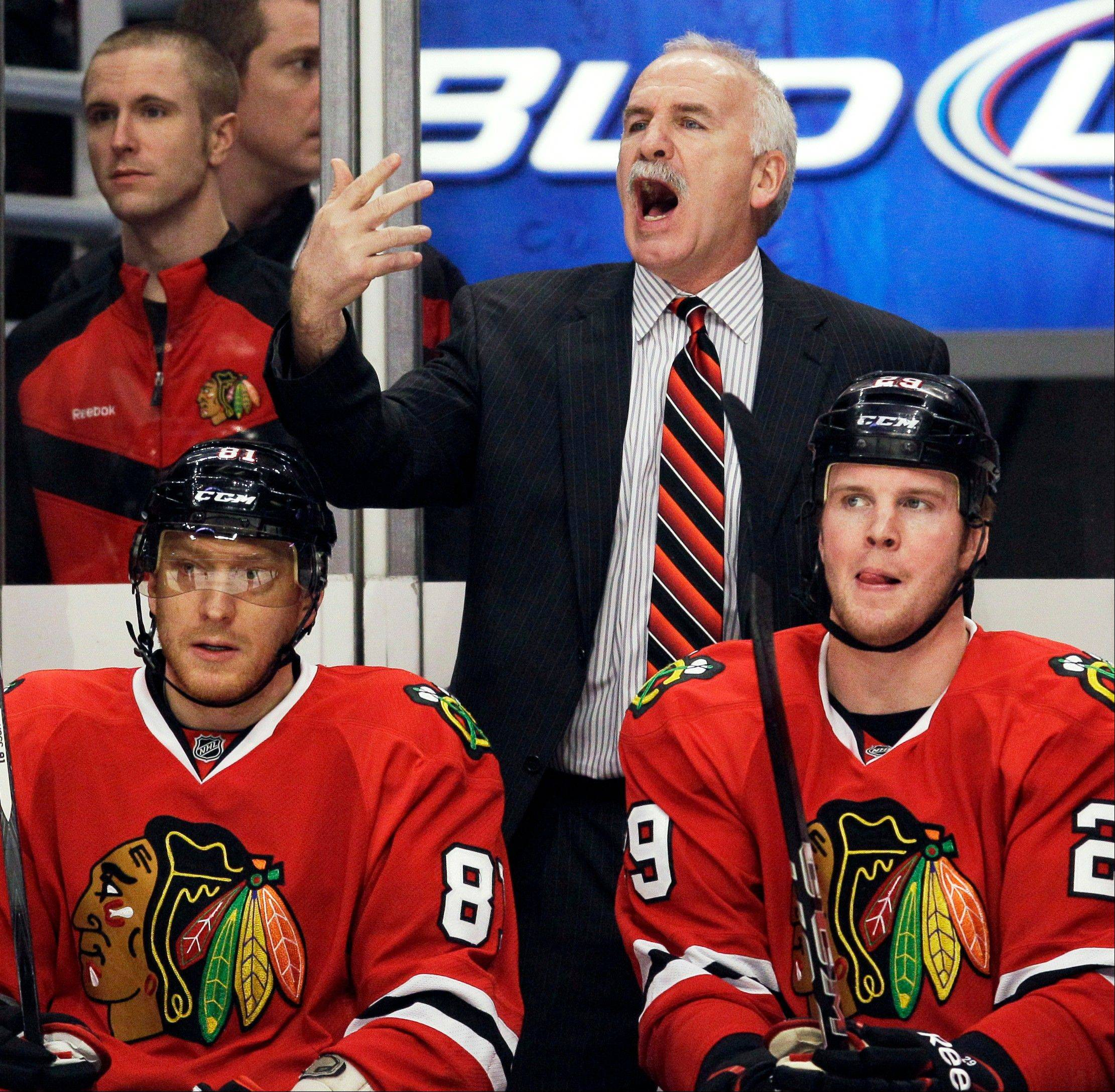 Blackhawks coach Joel Quenneville said both Kings goals Wednesday night should have been disallowed.