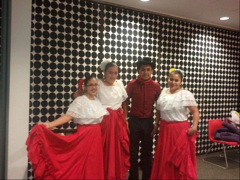 "Performers represented Mexico at the village of Streamwood Community Relations Commission's annual ""Cultures of Our Community"" event."