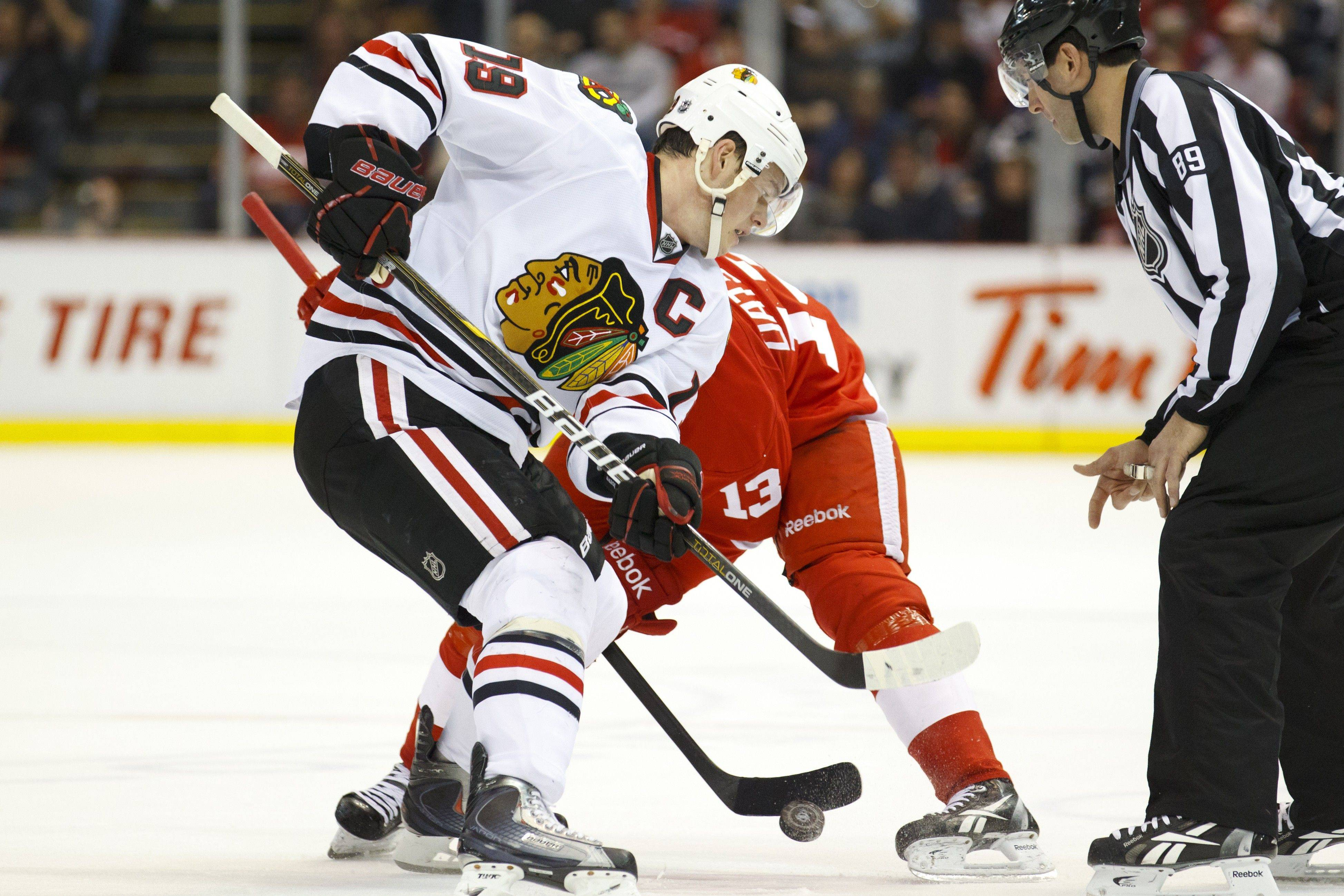 Familiar foes: Hawks ready for Red Wings
