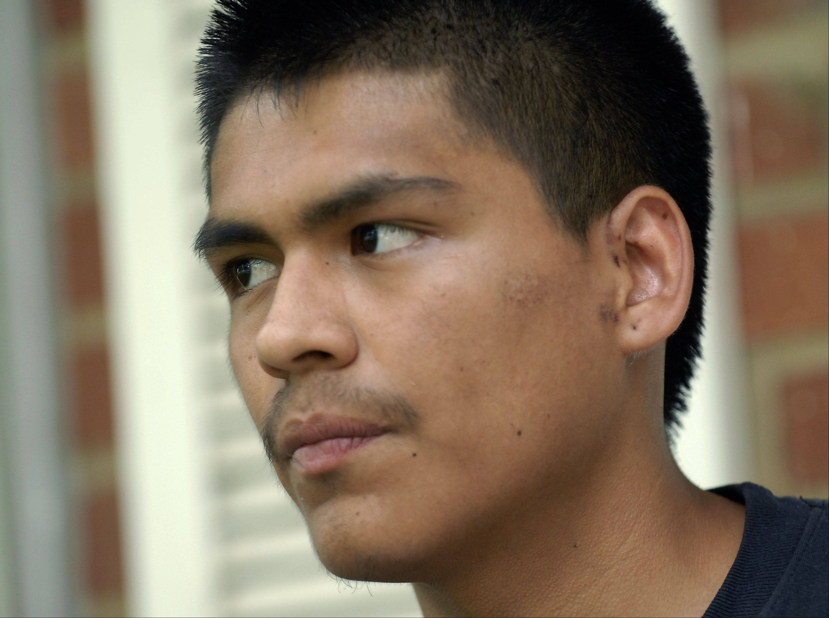 Daniel Ascencio 17 talks about the accident that took the lives of three of his friends and the fact that he survived.
