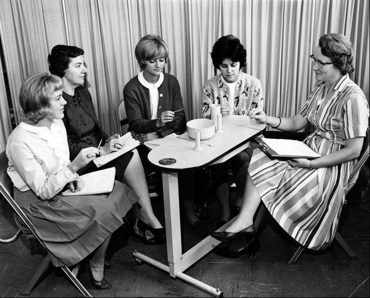 This photo from one of the college's first nursing classes includes instructor Margaret Gabler Pickett, but who are the others?