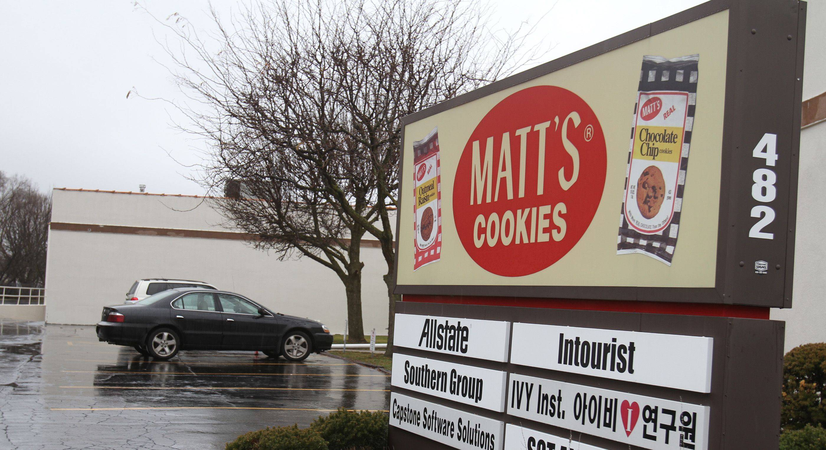 Matt's Cookies are distributed throughout the Chicagoland area and even into Wisconsin.