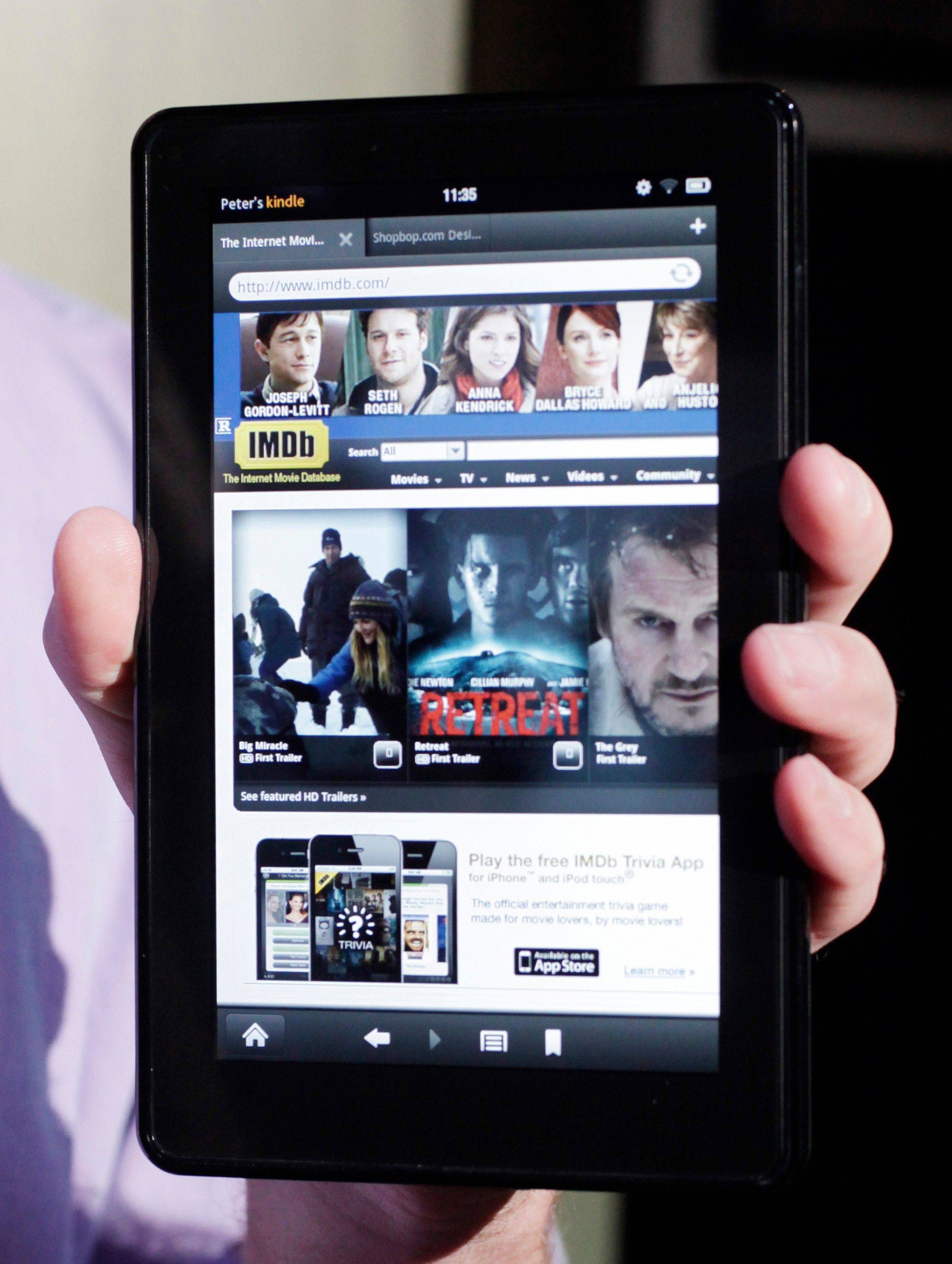 Since the launch of the first Kindle in 2007, this franchise has grown to include several e-readers and the Kindle Fire tablet.