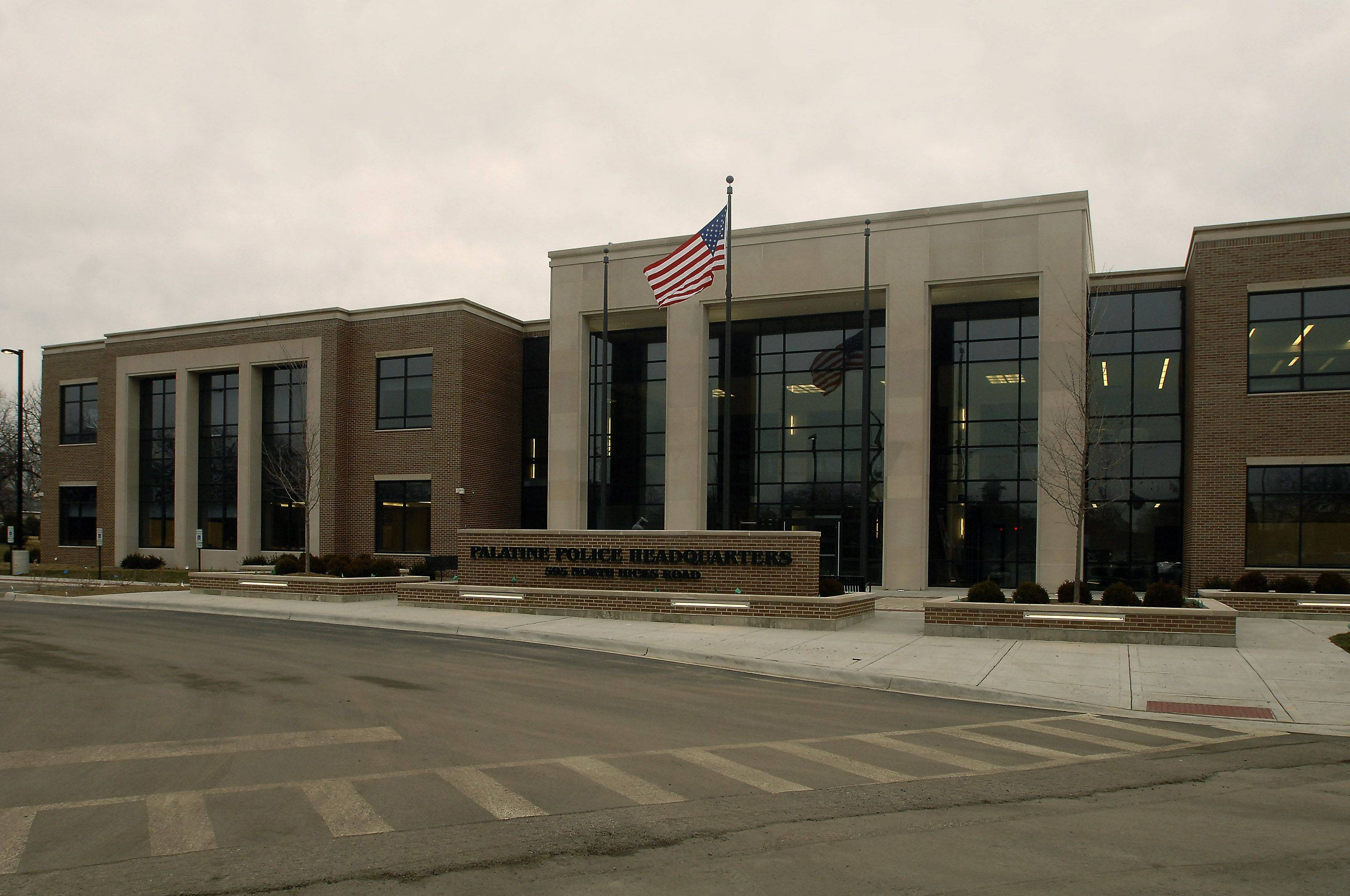 The new year will ring in a new home for Palatine police, who expect to move to this new building later this month.