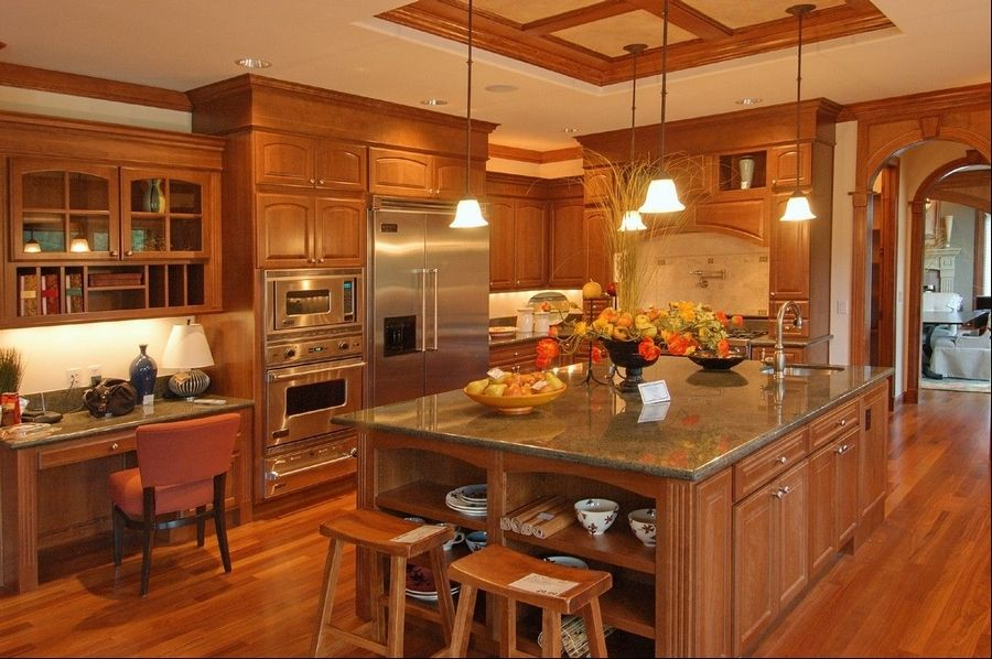 The beauty and heat-resistance of granite, combined with falling prices, make it a top choice for kitchen renovations.