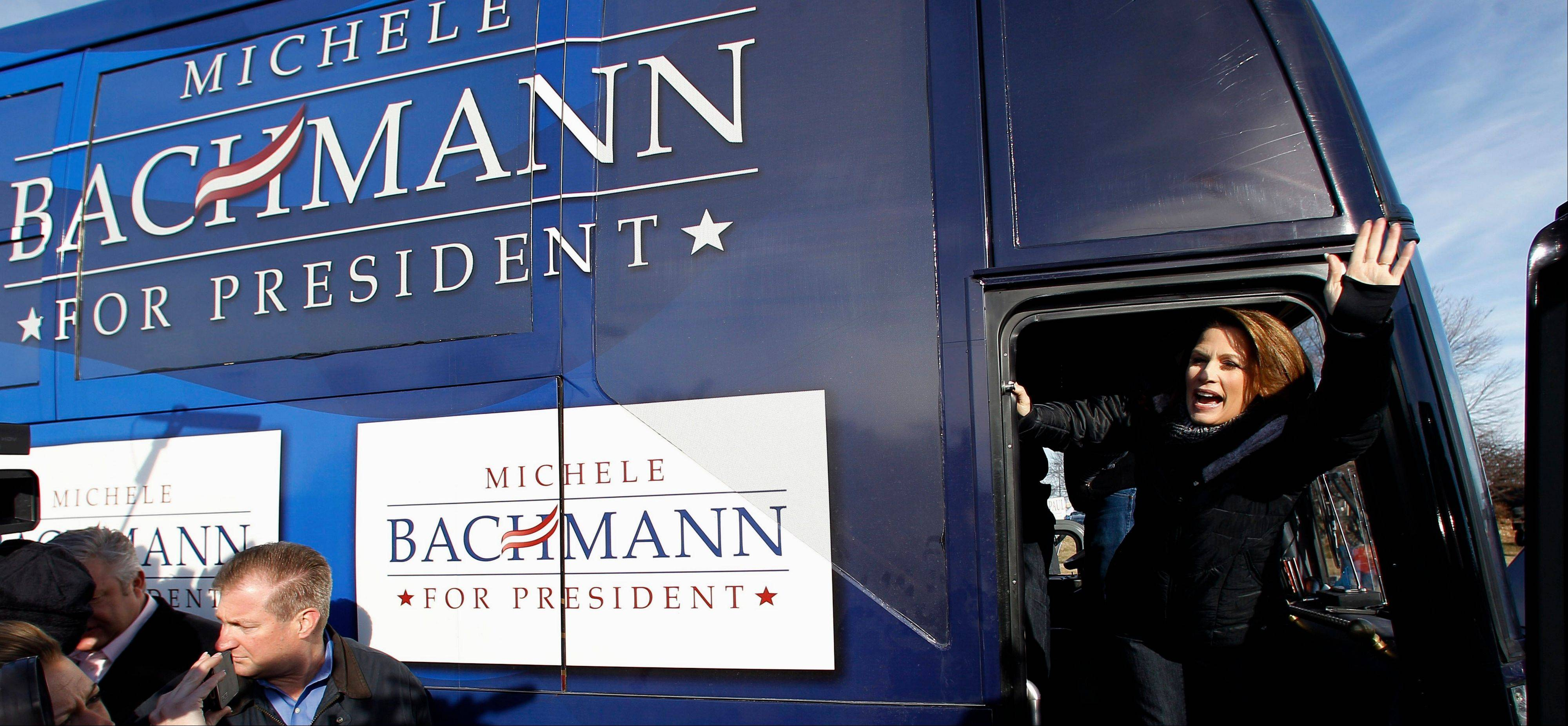 Bachmann cancels S.C. trip after poor Iowa finish