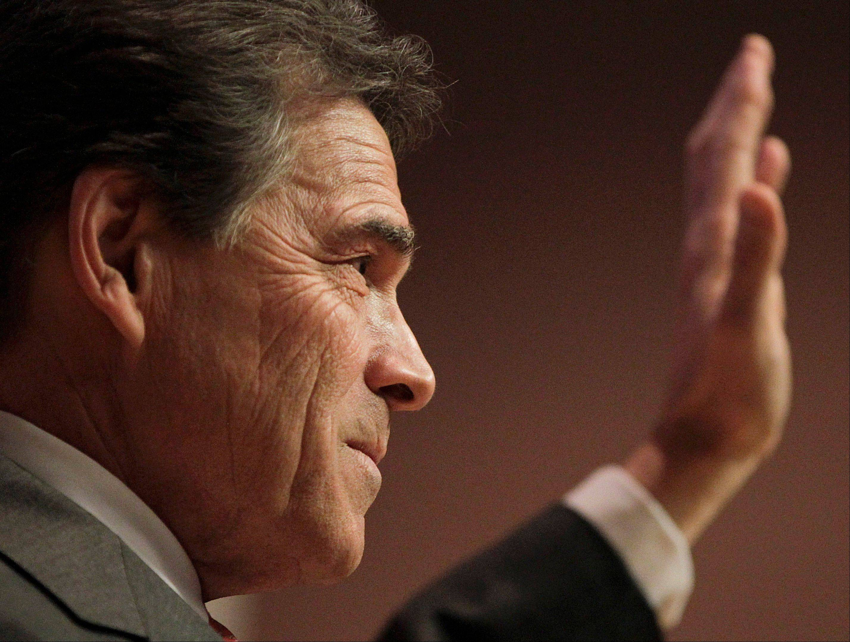 Perry: Reassessing bid after Iowa caucuses