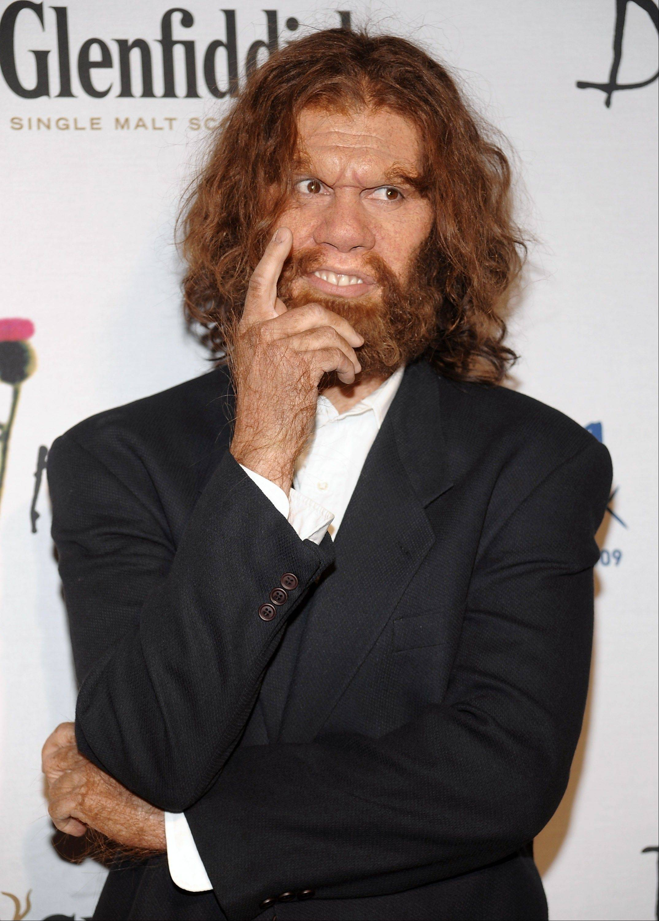 Jeff Daniel Phillips makes an appearance as the Caveman we know and love from the Geico Insurance commercials.