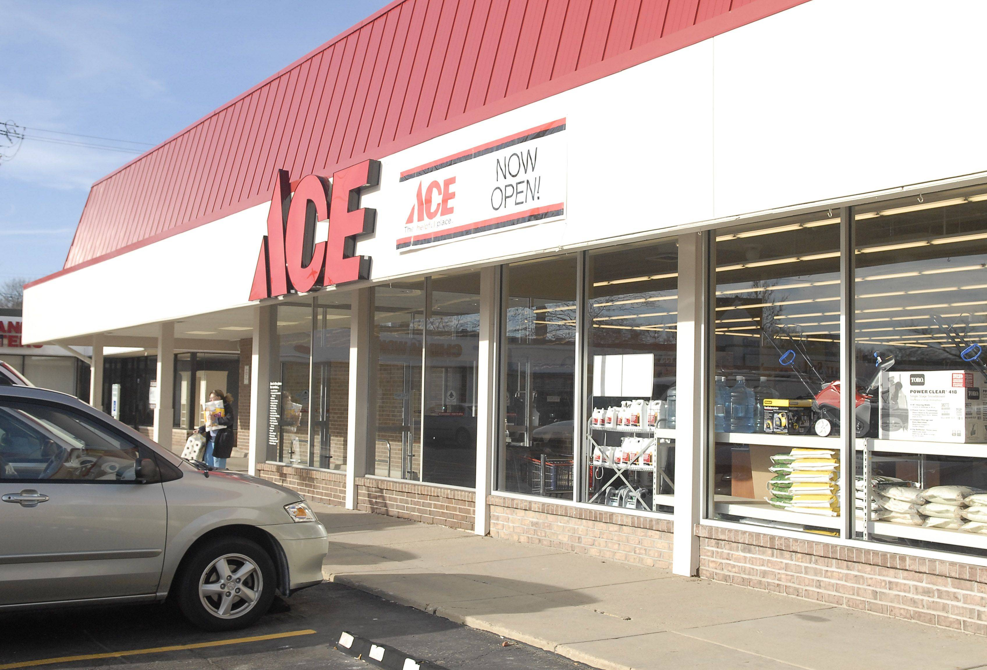 The Geneva Ace Hardware has reopened with new owners, George and Lynn Havlicek. The layout is different from in the past and there is a design area handled by Lynn, an interior designer.