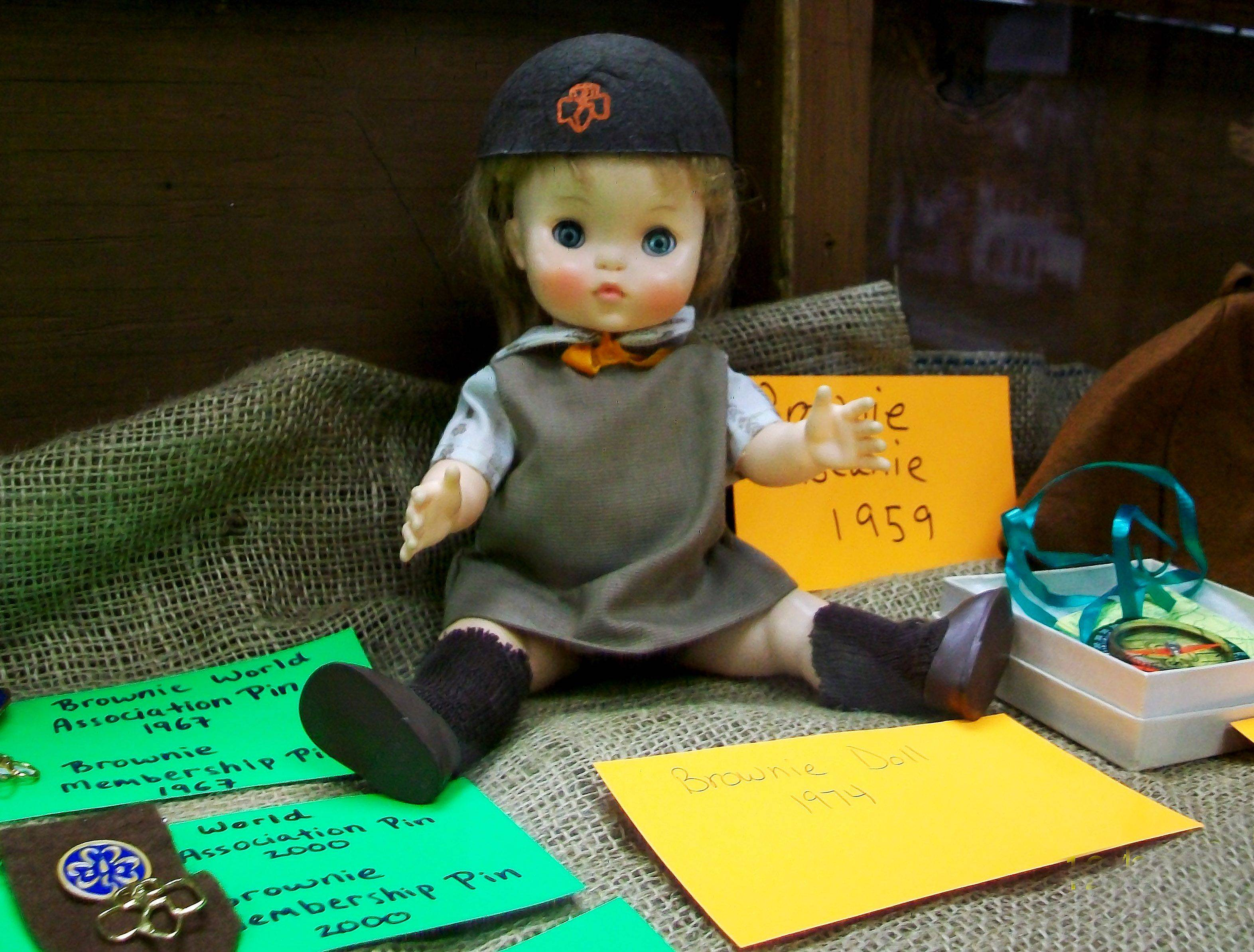 Dolls are part of the Ela Historical Society and Museum exhibit about the Girl Scouts celebrating 100 years in February.
