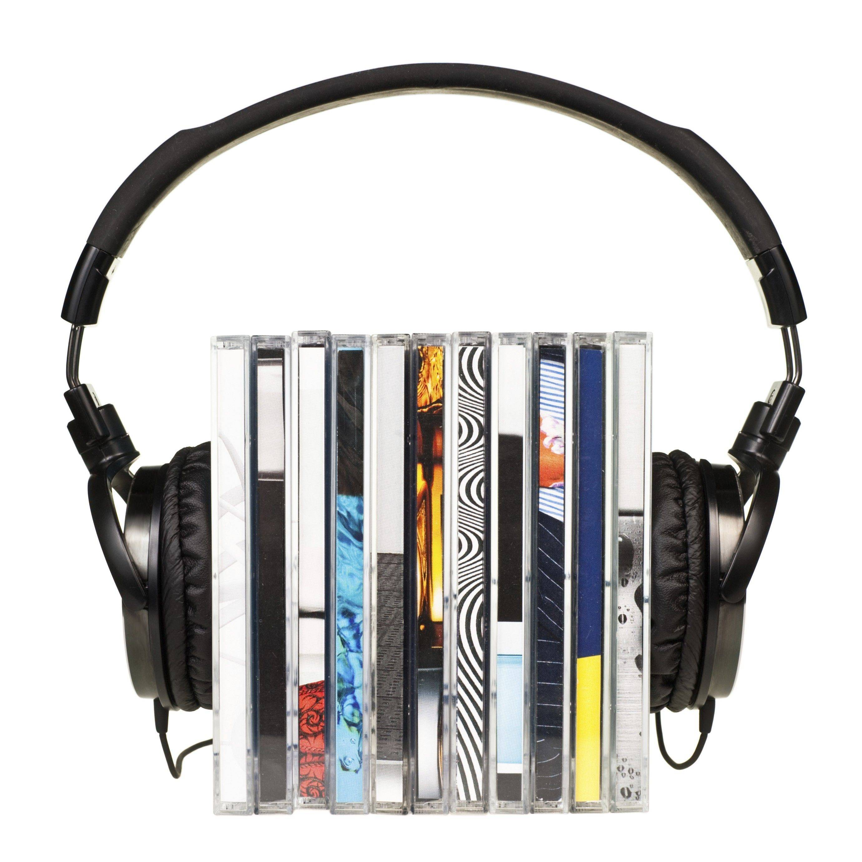 We're buying fewer physical CDs these days and purchasing more music online, according to Nielsen SoundScan.