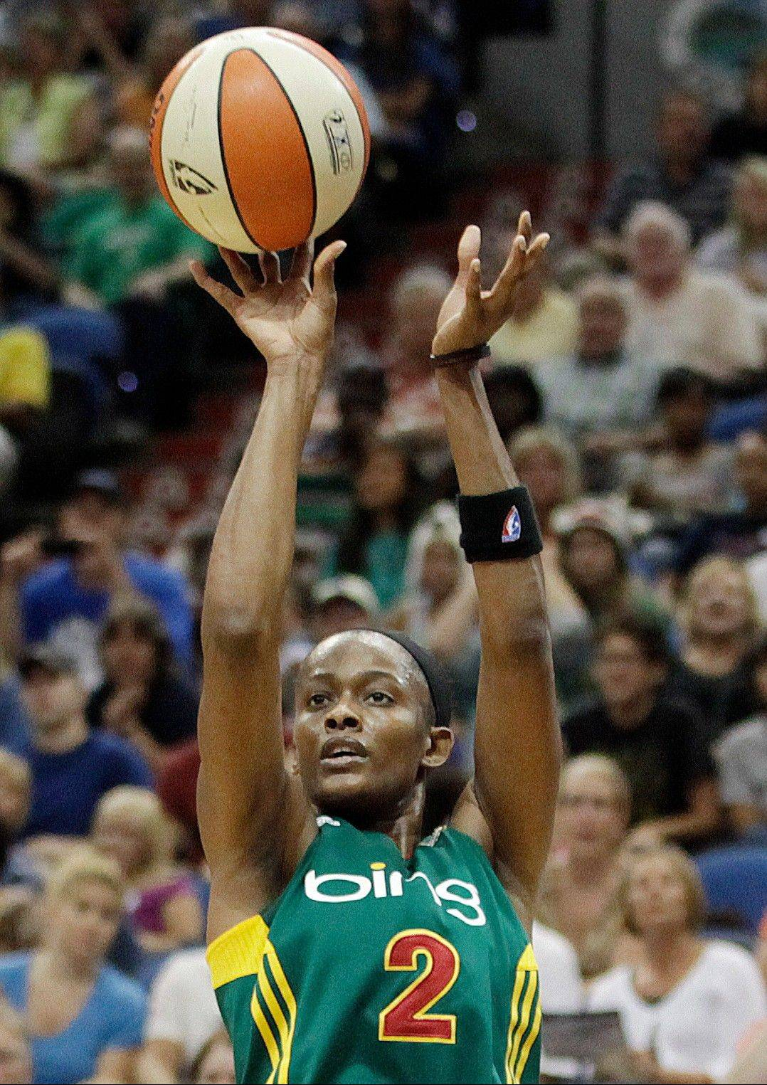 The Sky is hoping that newly acquired Swin Cash will be the player needed to propel the team into the WNBA playoffs.