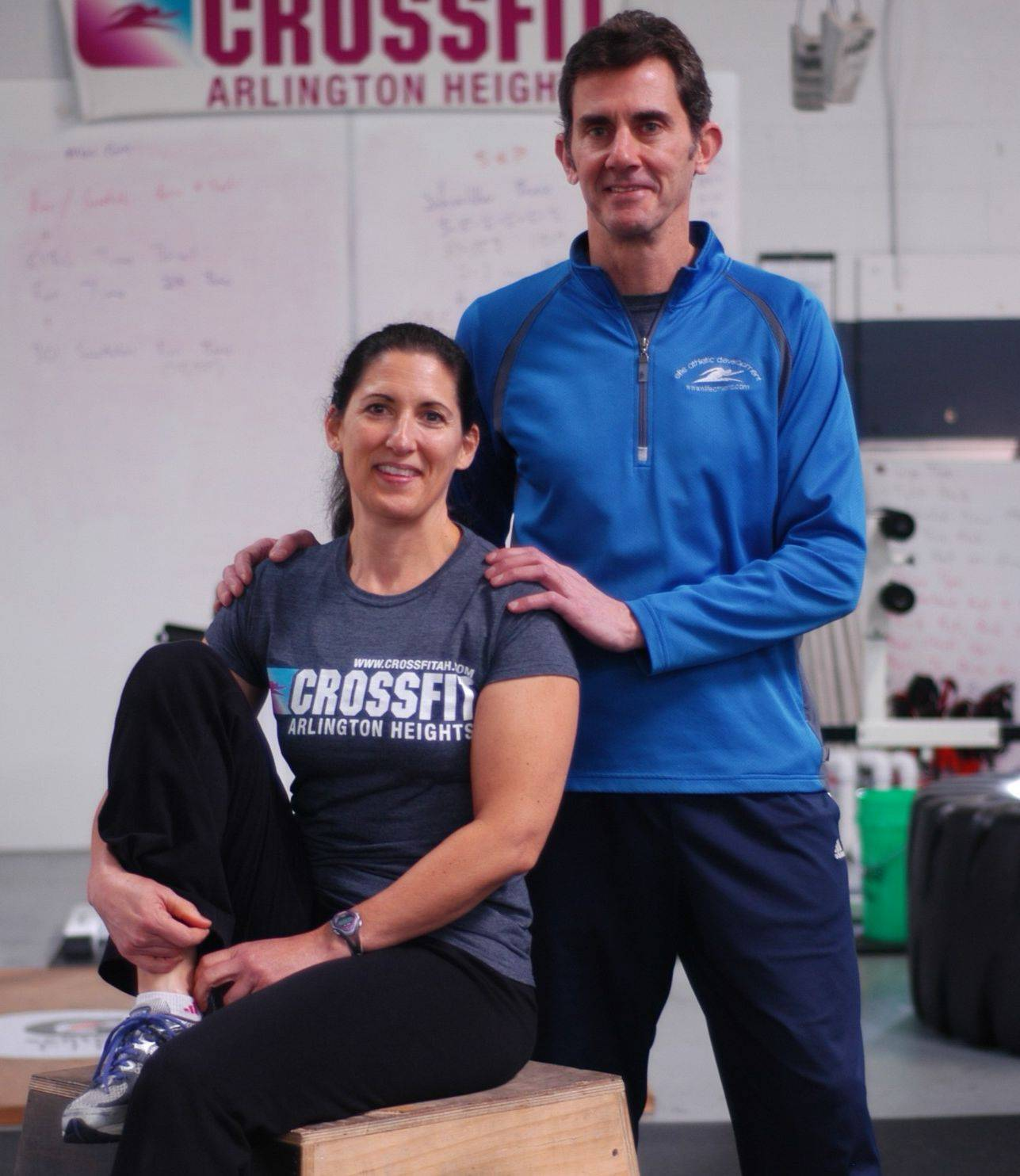 Karen Stoychoff Inman and her husband Jim Inman own and operate Elite Athletic Development in Arlington Heights.
