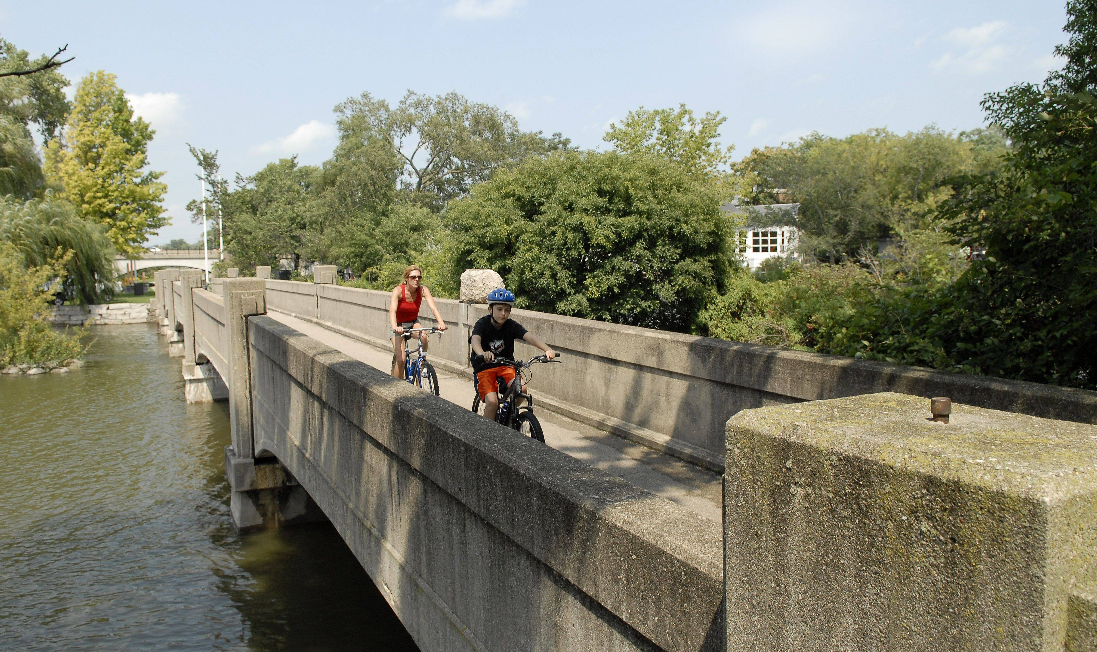 Island Park in Geneva will be closed this spring and summer when the Geneva Park District replaces the 81-year-old north bridge on the Fox River Trail. Officials hope to have the park reopened by Labor Day.