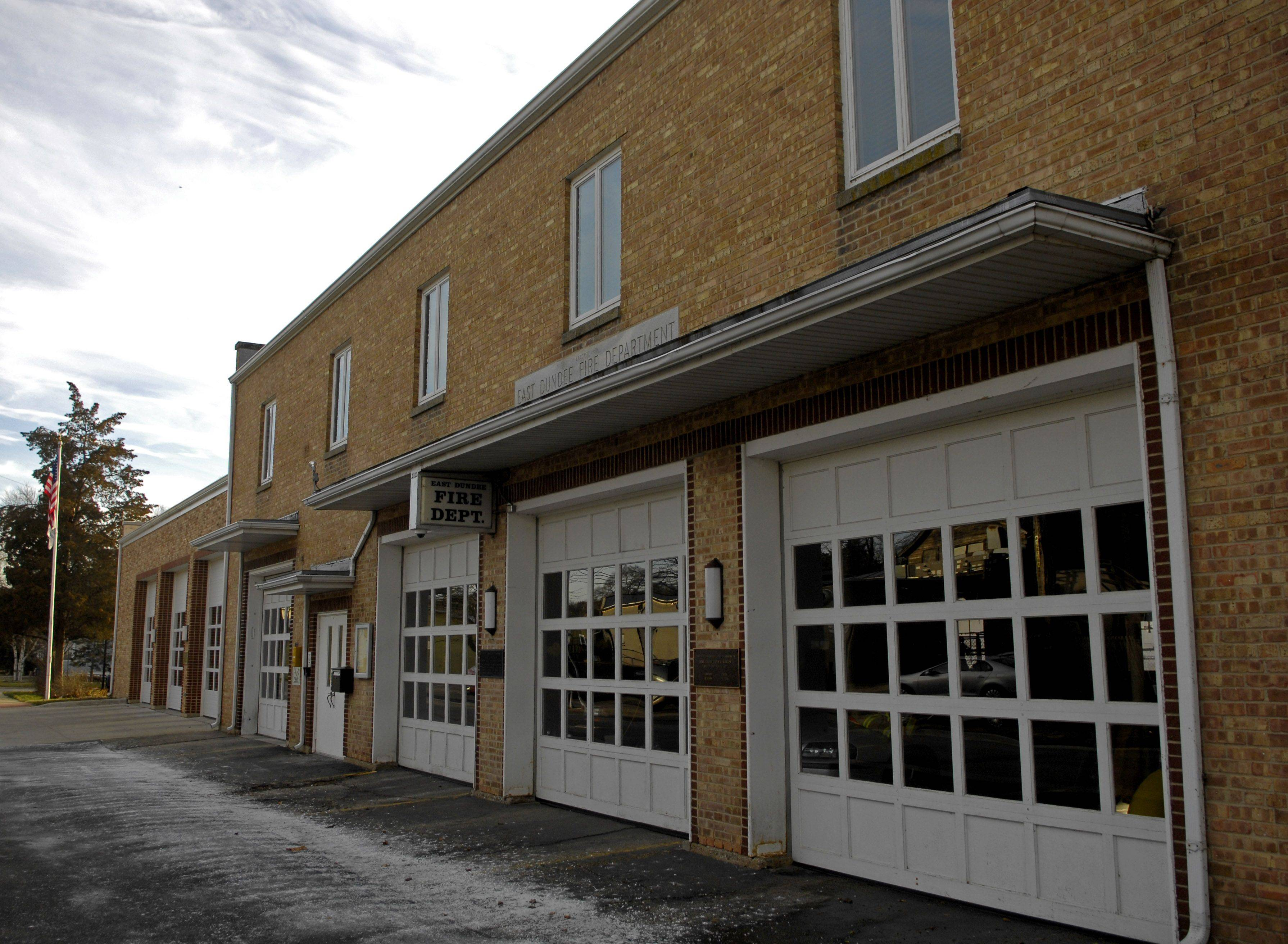 East Dundee officials would like to relocate from the current fire department building on Third Street, which dates to 1950.