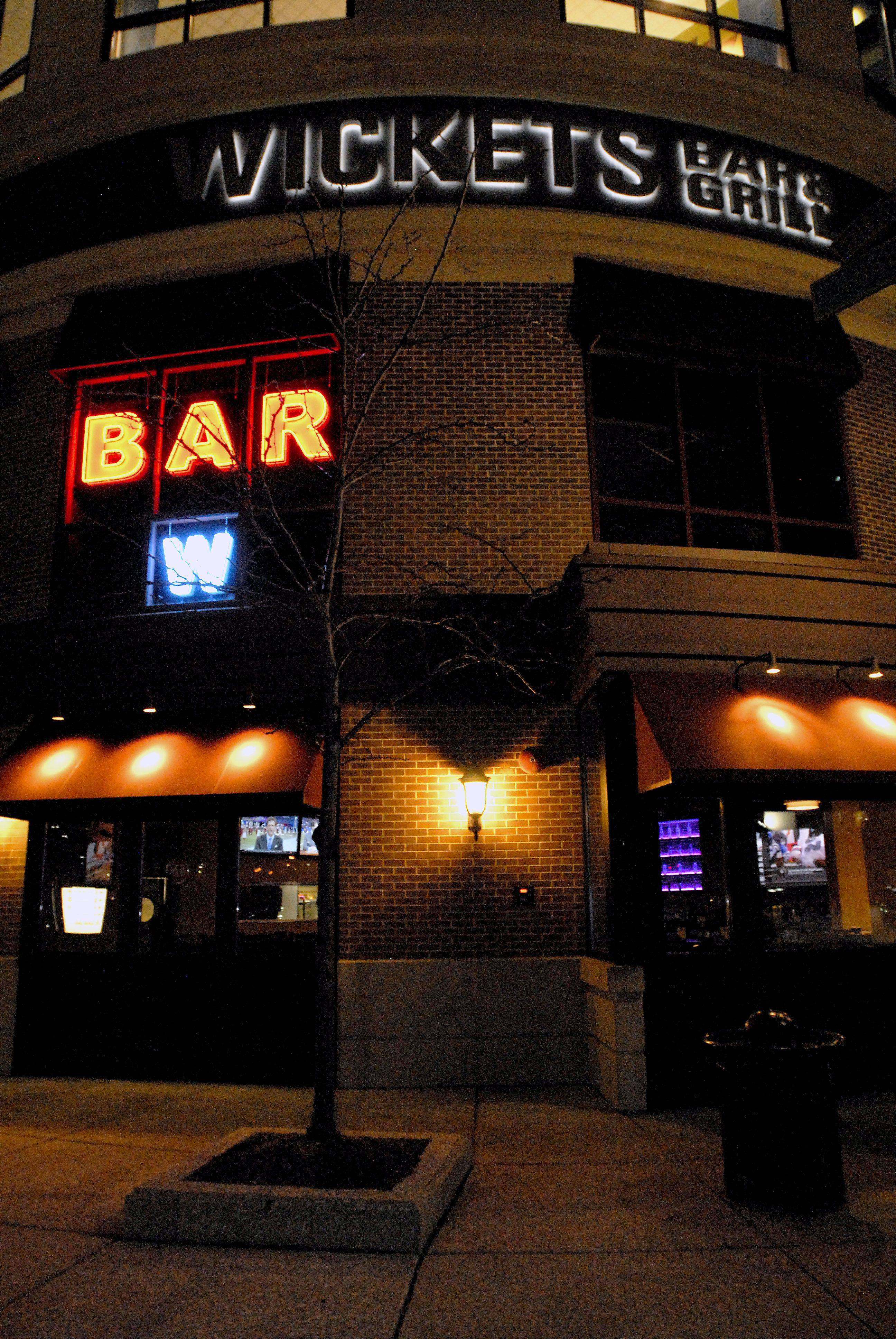 Wickets Bar & Grill opened in November at the Streets of Woodfield.