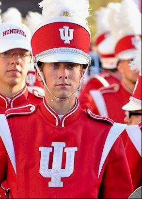 Tim Camper of Carol Stream will be on the field at the Super Bowl with the Indiana University Marching Hundred.