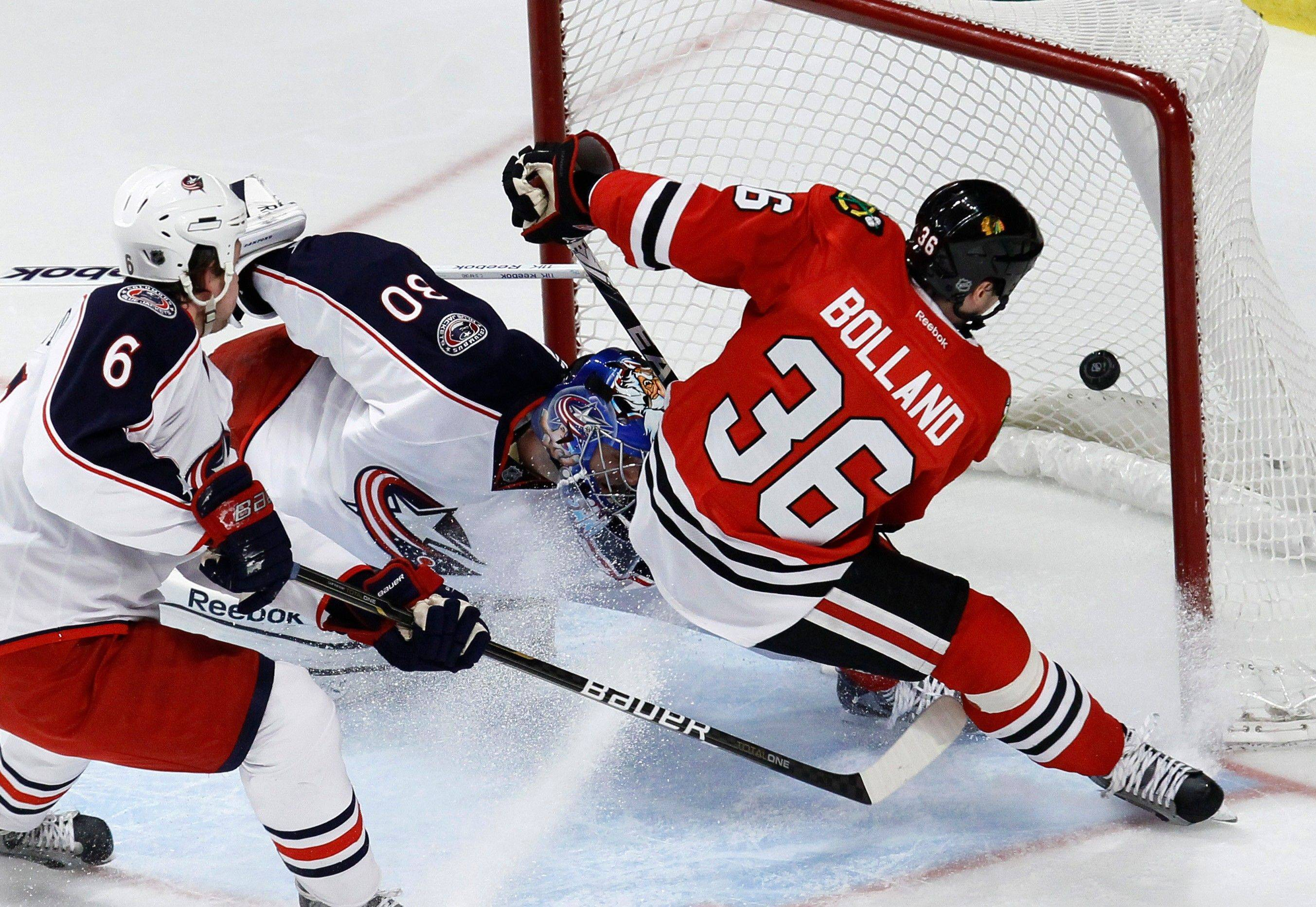Hossa has ability to heat up teammates' games