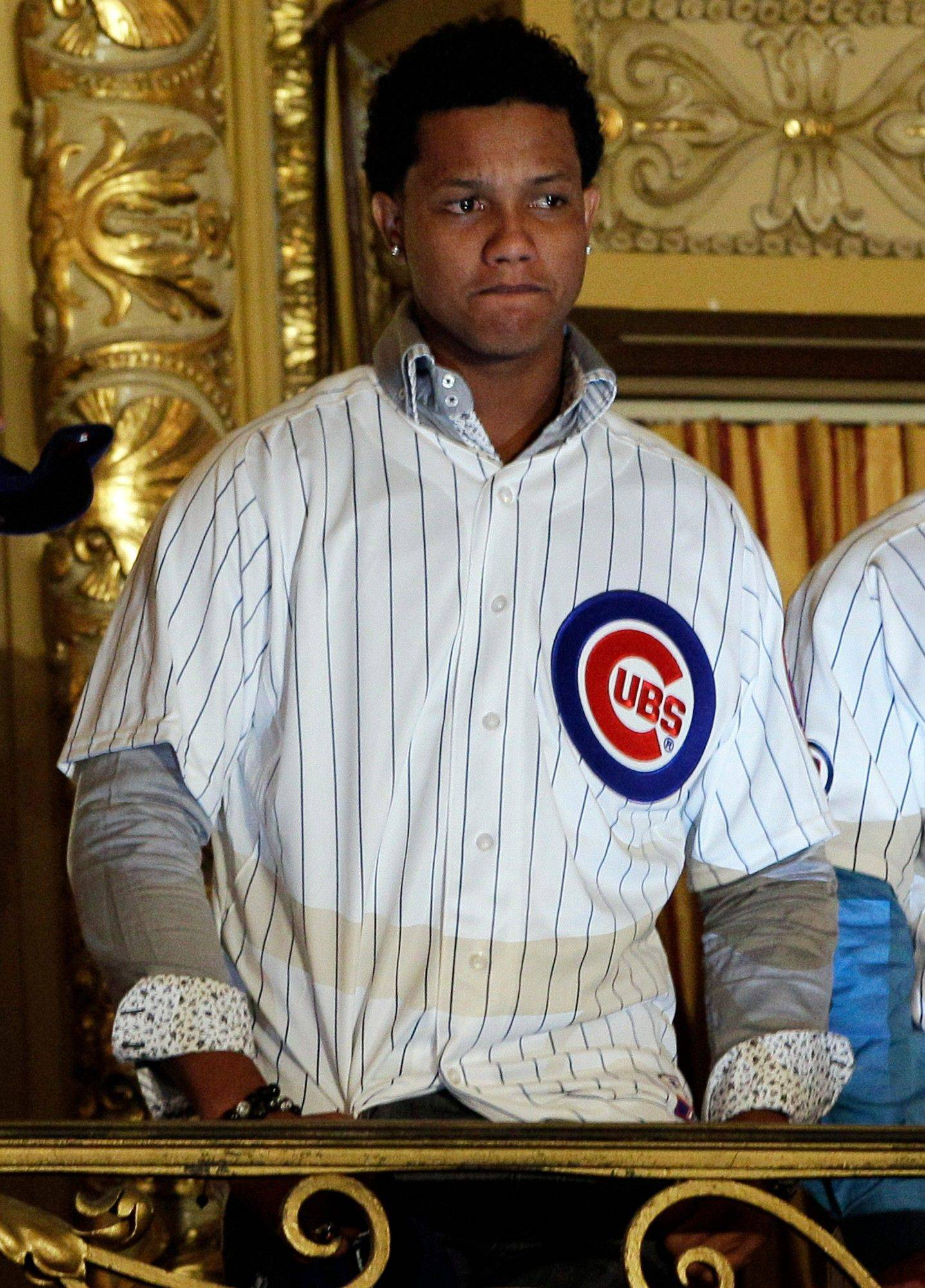 Chicago Cubs infielder Starlin Castro attends the 27th Annual Chicago Cubs Convention in Chicago on Friday, Jan. 13, 2012. Castro, whose attorneys last week denied any wrongdoing after a report that a woman had�accused him of sexual assault, said Friday that he has cooperated with police.