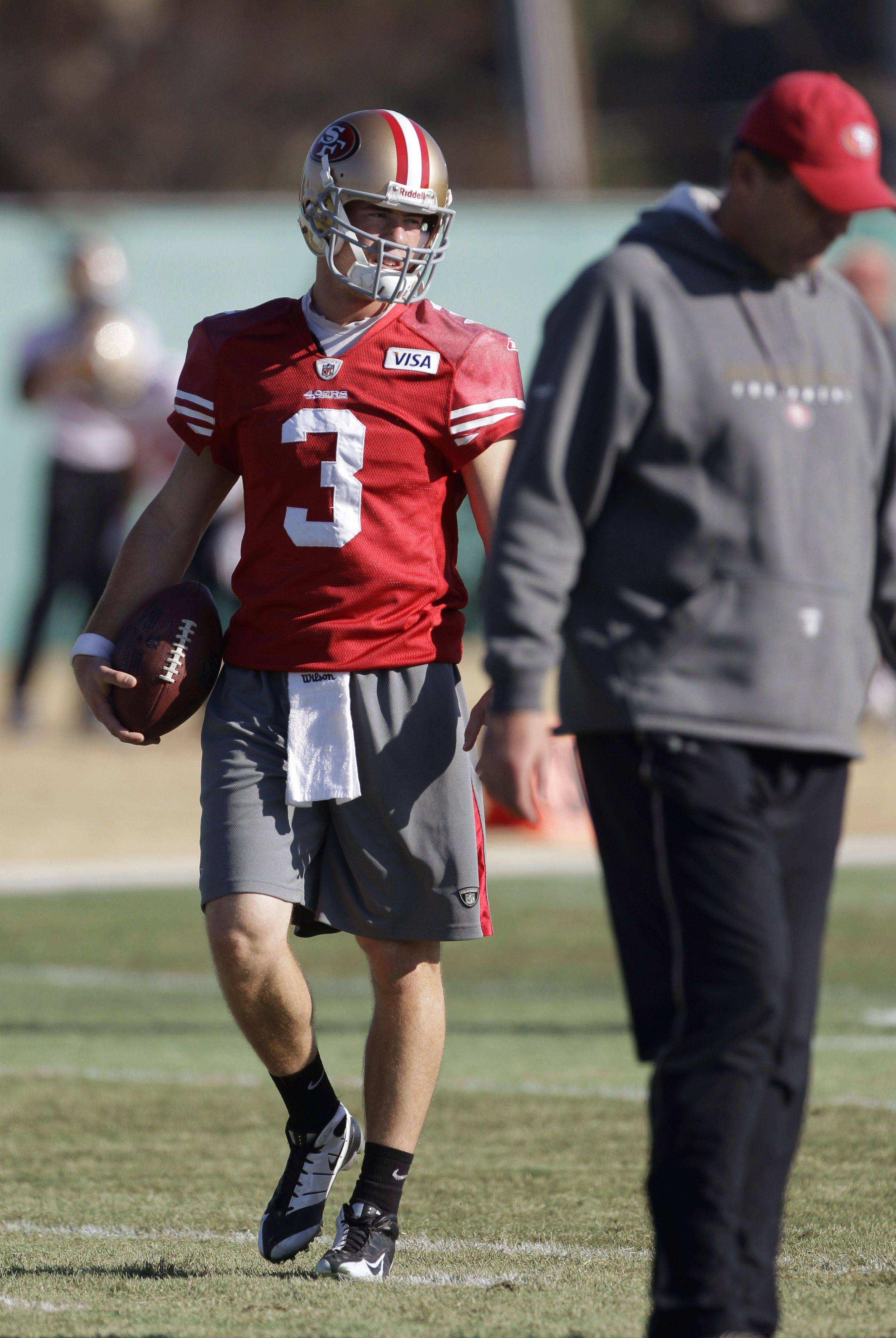 Scott Tolzien, a Rolling Meadows resident and Fremd High School grad, is the No. 3 quarterback for the San Francisco 49ers. This week he played Drew Brees in practice for the scout team as the 49ers prepare to play the New Orleans Saints.