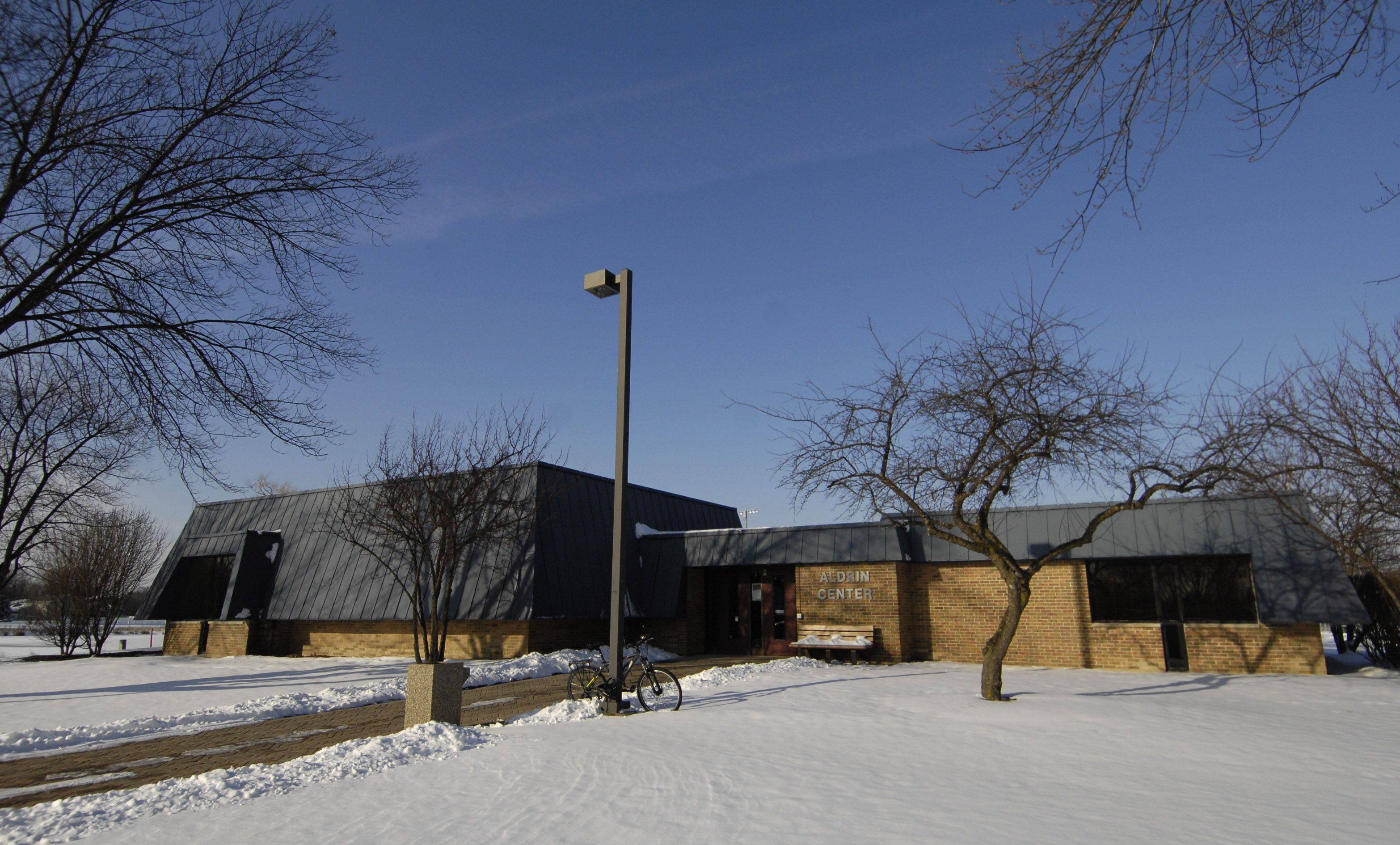 The Aldrin Community Center at Armstrong Park in Carol Stream will be demolished in early 2012 as part of DuPage County storm water management project in the park.