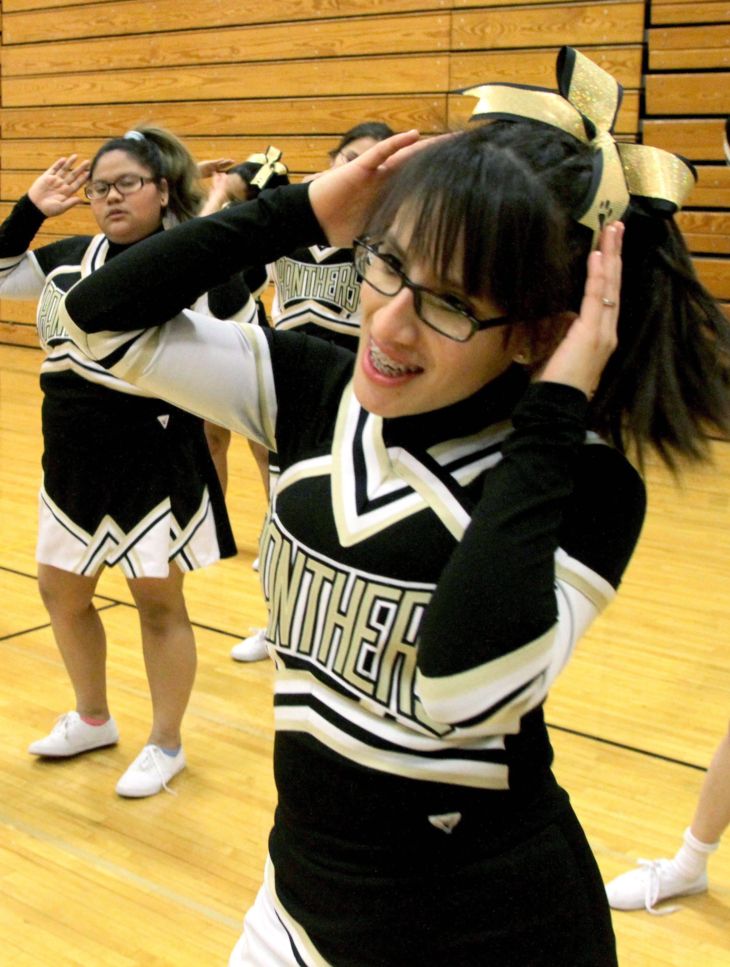 Youth Running Shorts Luz Girl Cheer Practice Shorts
