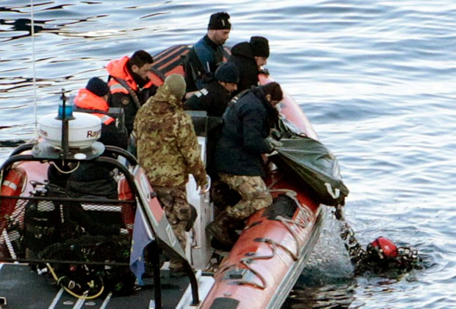 Cruise ship death toll at 11