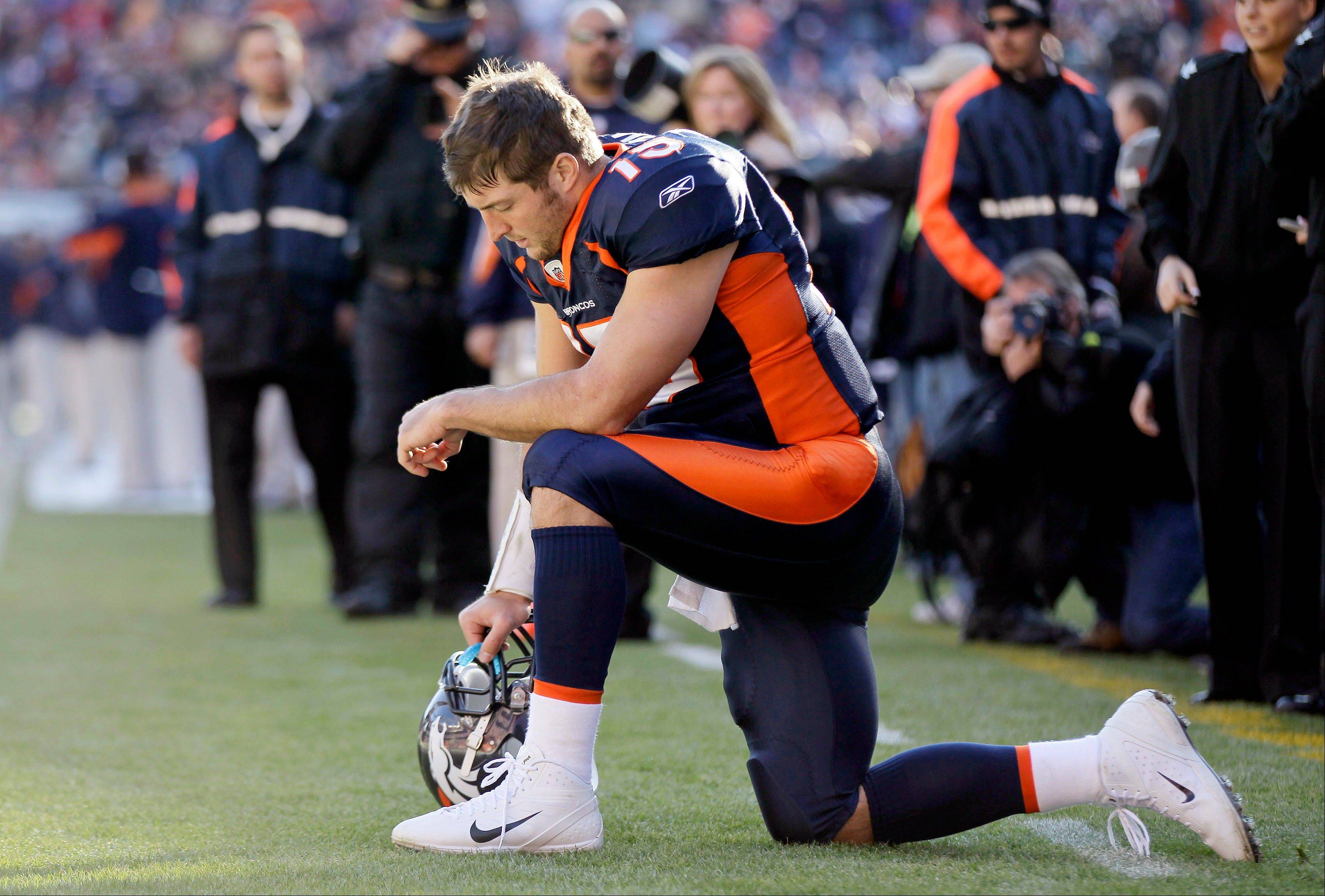These public, on-field prayers of Denver Broncos quarterback Tim Tebow have made him one of our nation's most-admired and most-mocked athletes.