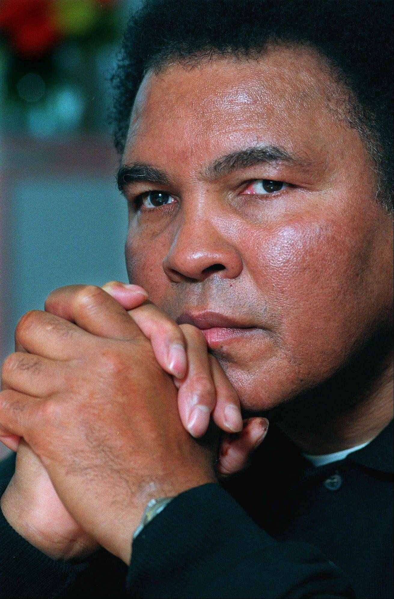 Boxing legend Muhammad Ali, who turns 70 on Jan. 17.