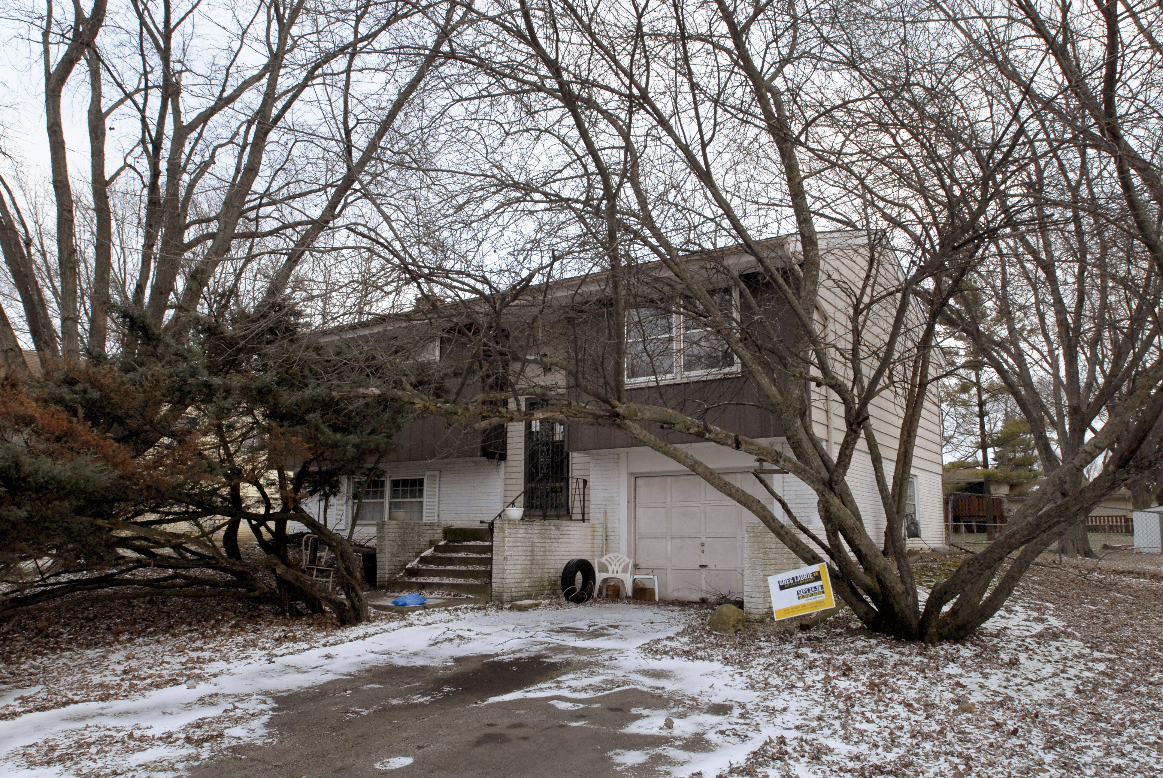 The foreclosed home of John Wuerffel on Hampton Lane in Schaumburg was sold at auction in December for $35,000 to Hoffman Estates-based Right Residential for renovation.