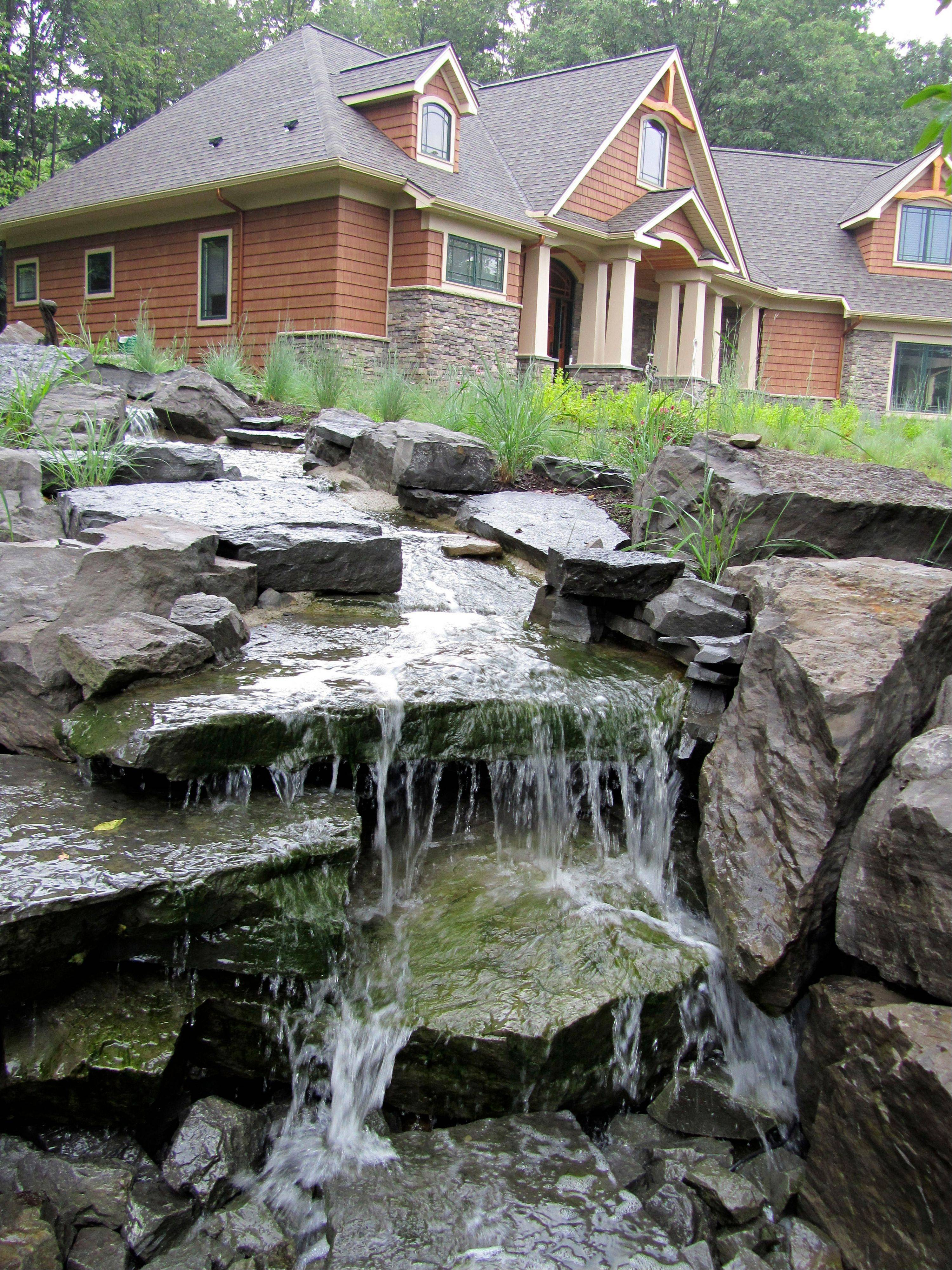 Installing A Waterfall, Minus The Pond, Is A Less Expensive Alternative,  That Requires