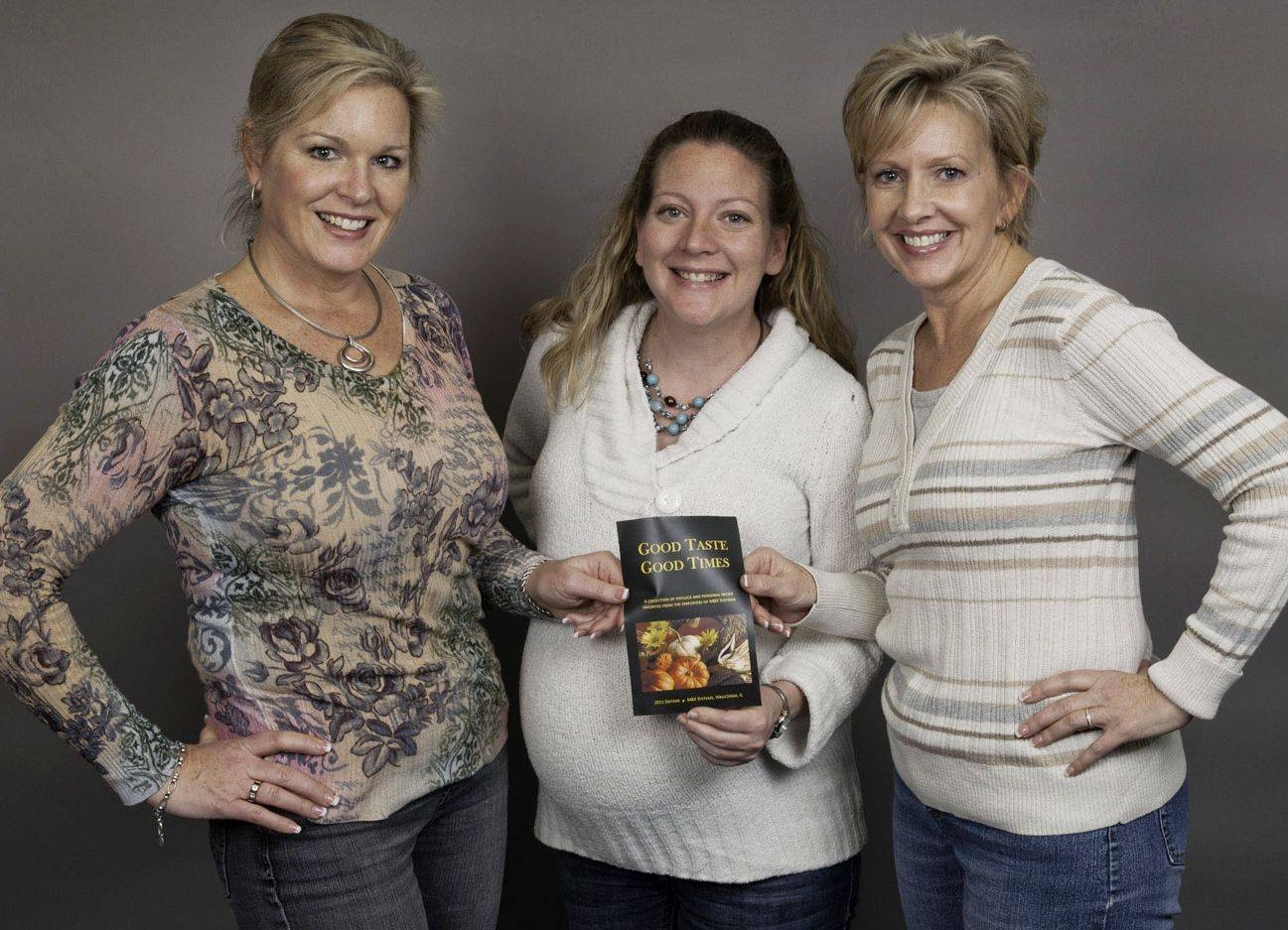 "Liz Molli, Karen Niziolek and Kim Becker, the ""Fun Trio"" at MBX Systems, make up a group tasked with keeping the culture of their business."
