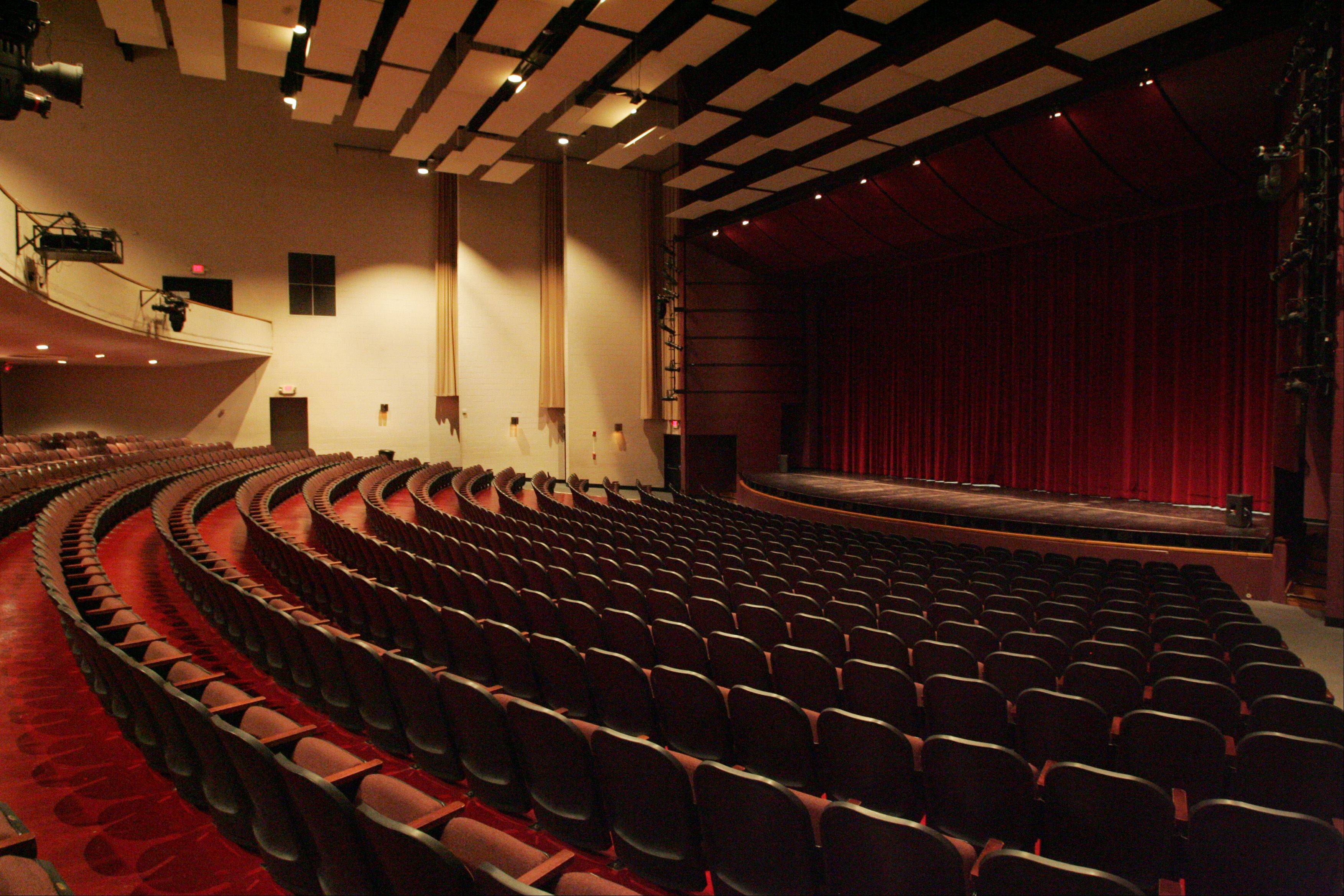 The auditorium at the Hemmens Cultural Center in Elgin is too small to attract big-name acts. And officials say the acoustics are subpar and the building itself has outlived its usefulness. The city may partner with the Grand Victoria Casino to build an entertainment complex at the casino. The casino will pay for a viability study.