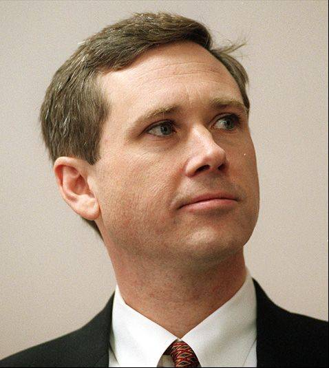 Mark Kirk, running for congress in the 10th district.