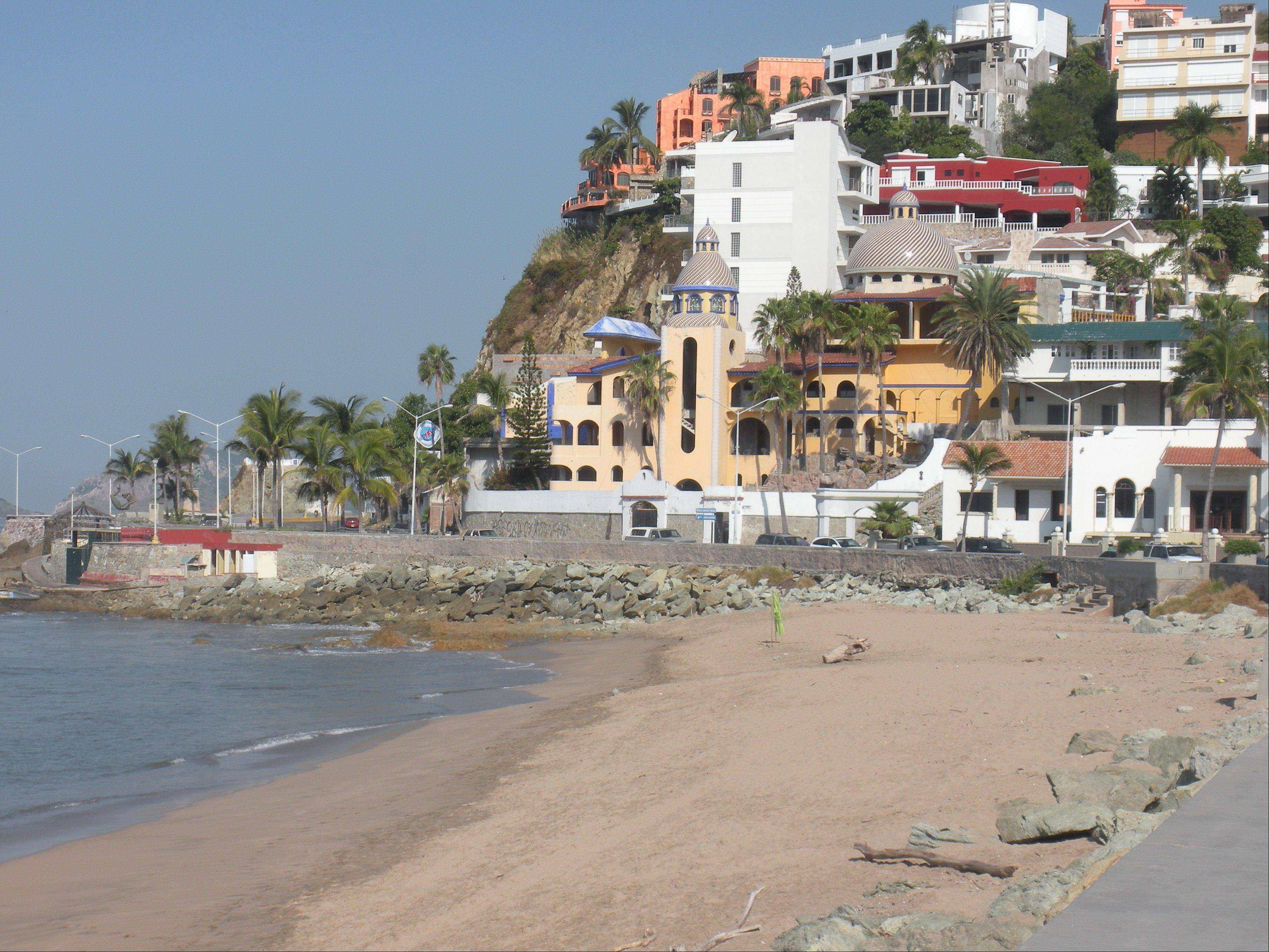 Located along Pacific Ocean, Mazatlan offers visitors boatloads of fresh seafood and beautiful sunsets.