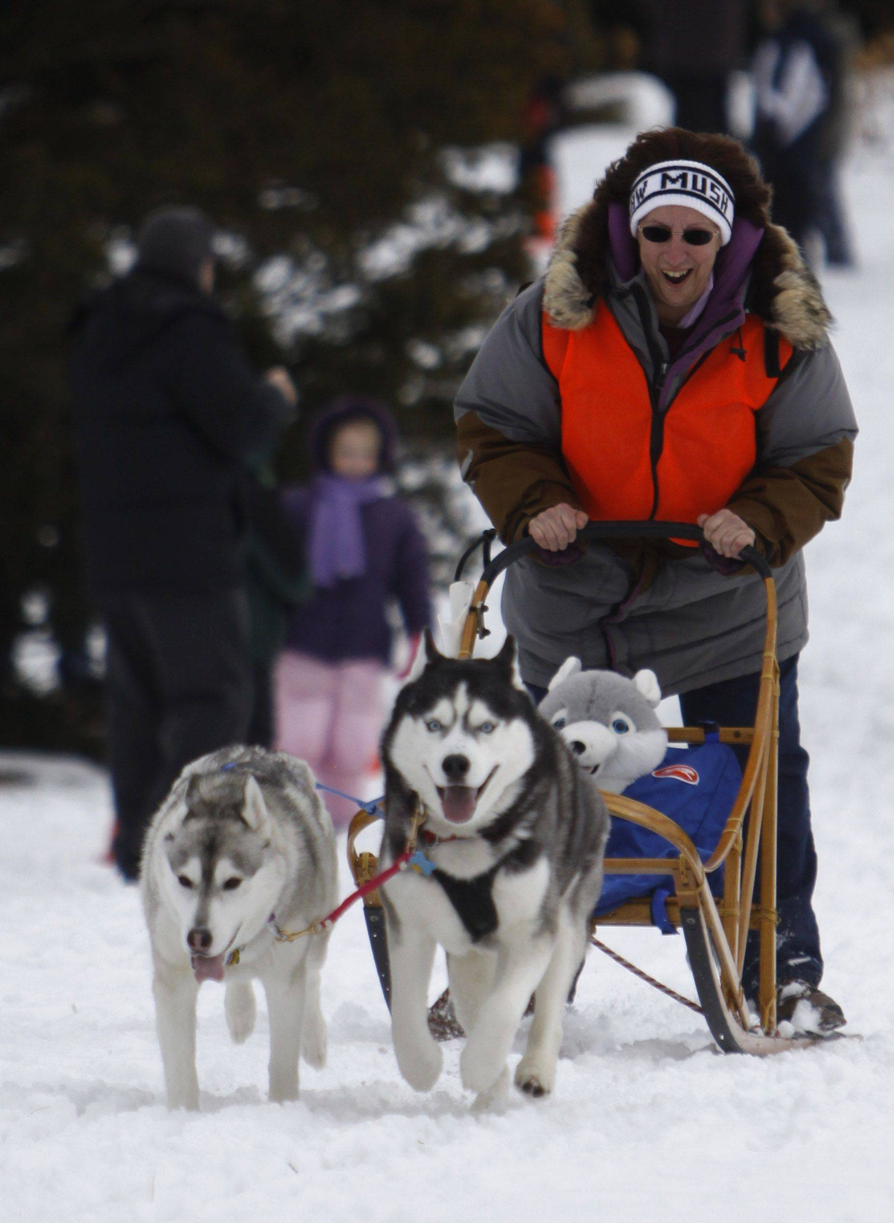 See Husky Heroes at the Morton Arboretum in Lisle.